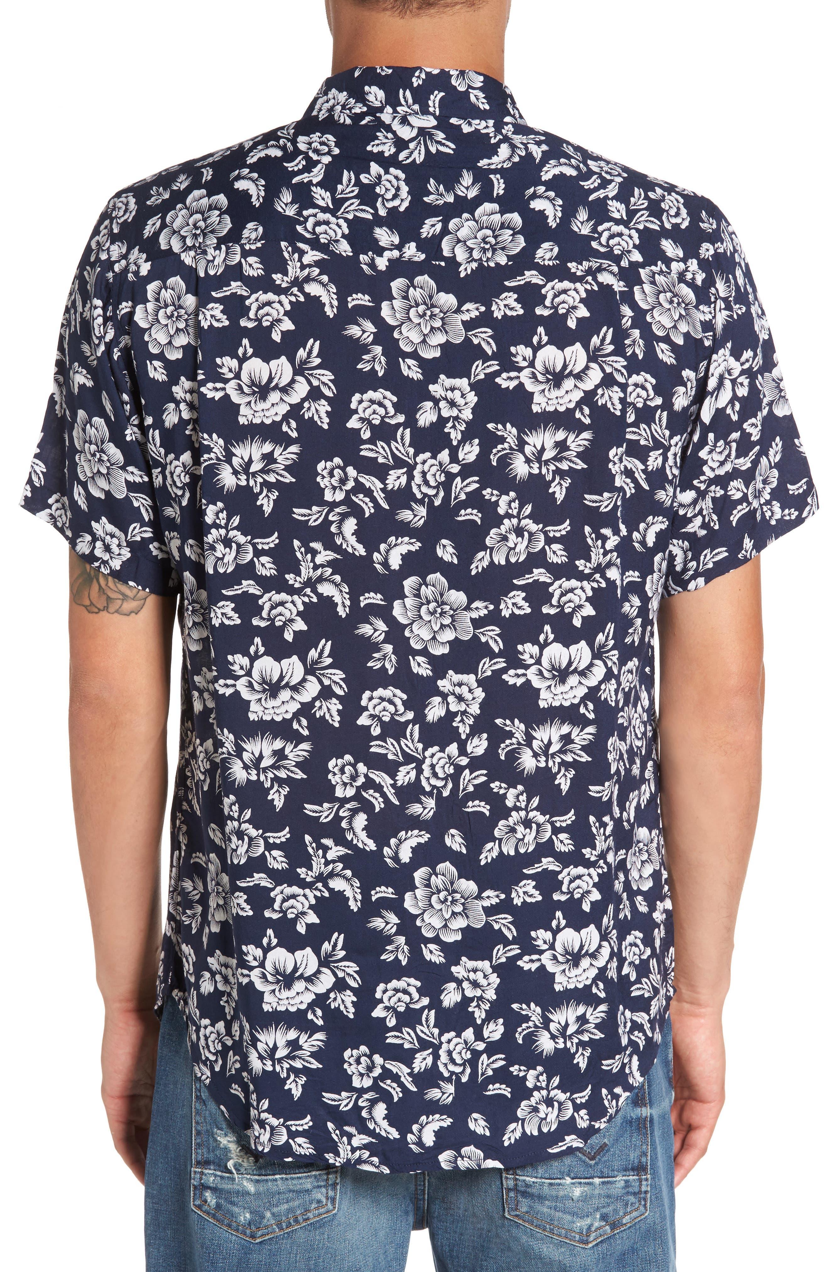 Havanna Trim-Fit Woven Shirt,                             Alternate thumbnail 2, color,                             400