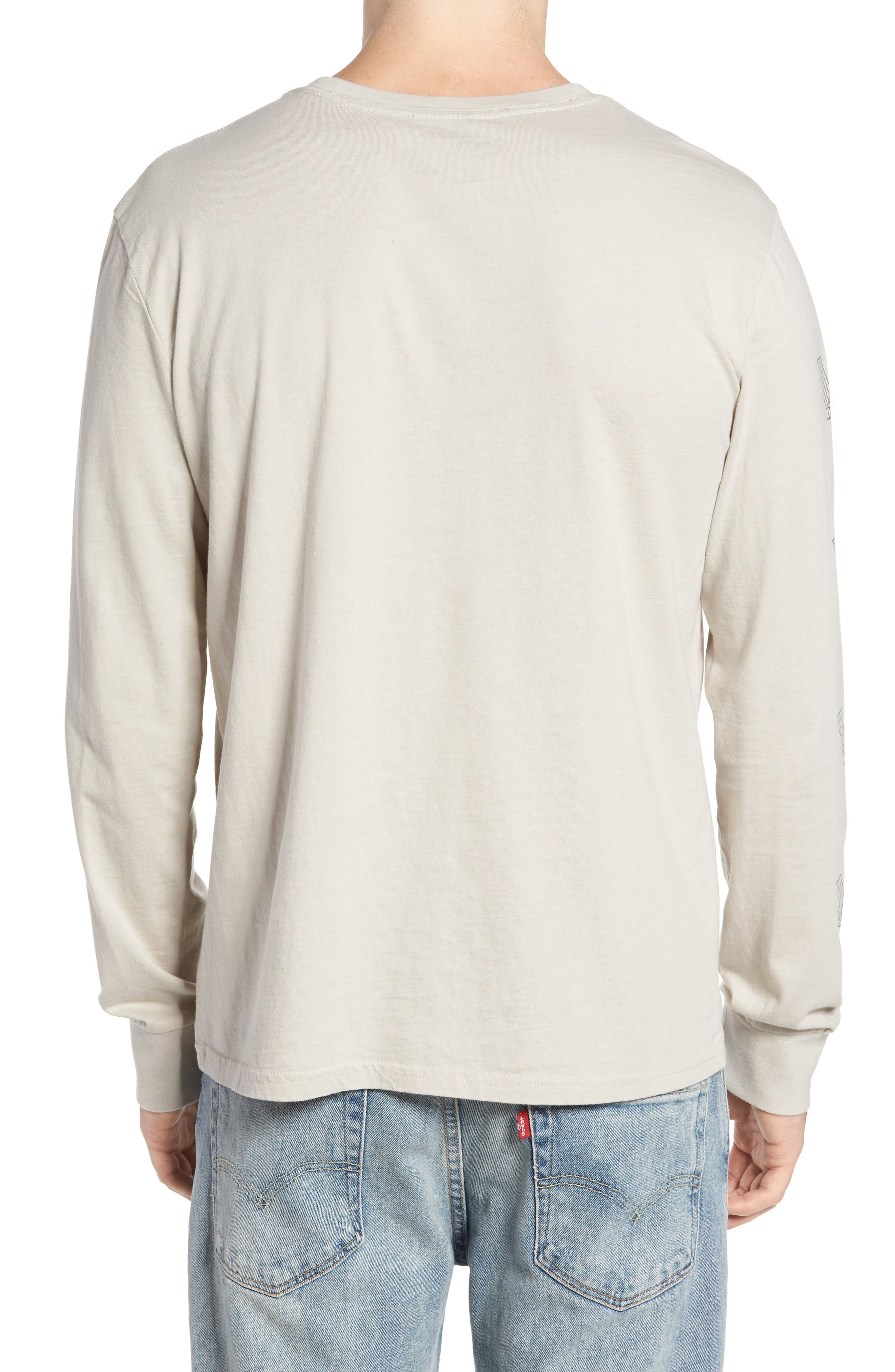 Maron Long Sleeve T-Shirt,                             Alternate thumbnail 2, color,                             020