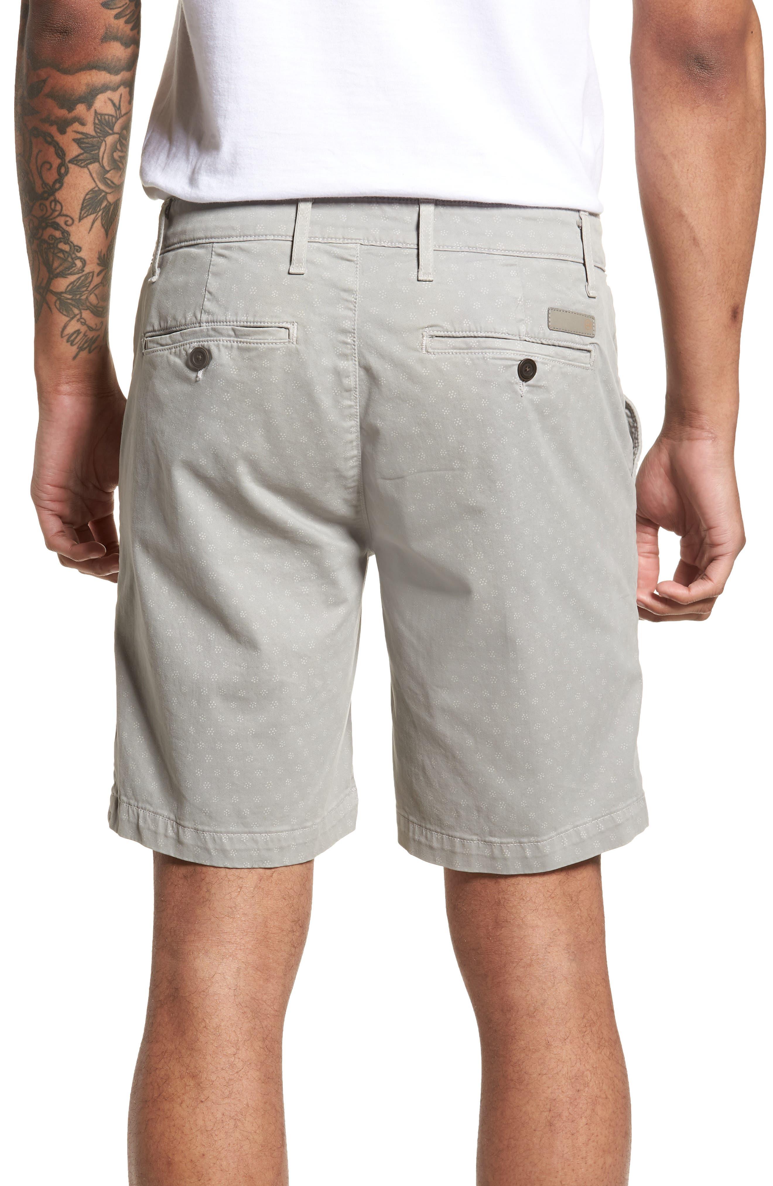 Flora Print Slim Fit Shorts,                             Alternate thumbnail 2, color,                             020