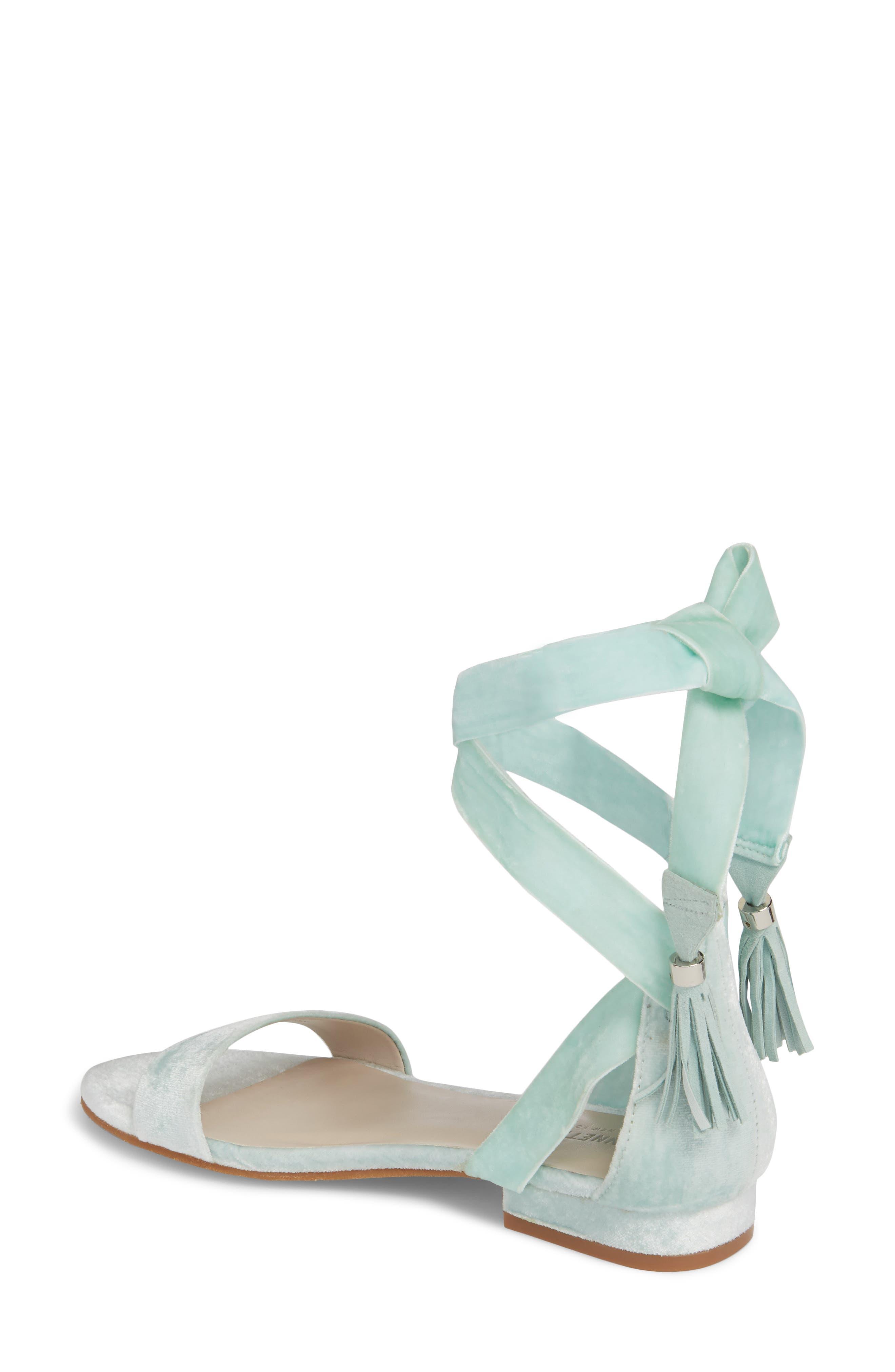 Valen Tassel Lace-Up Sandal,                             Alternate thumbnail 22, color,