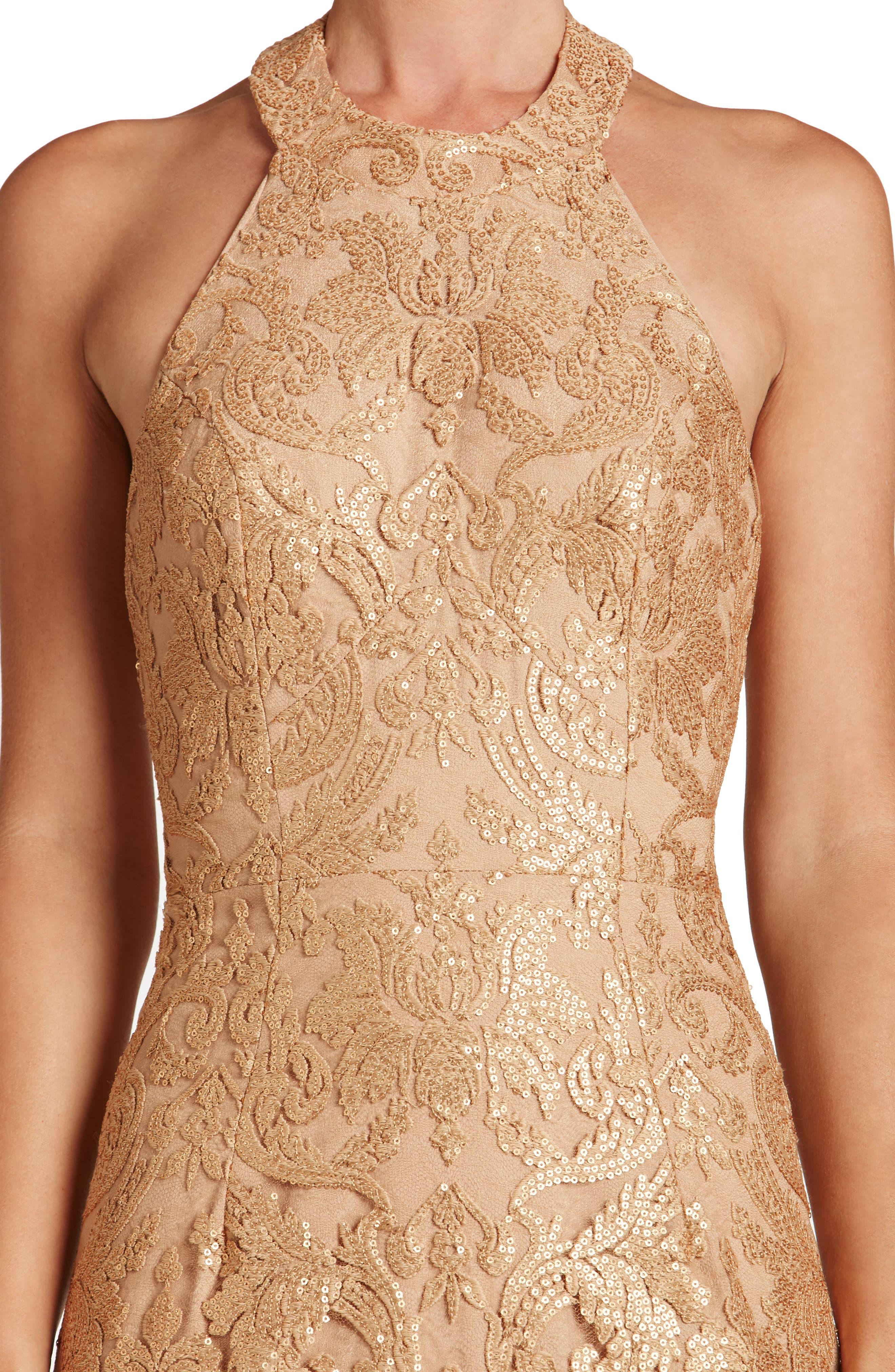 Cassie Sequin Midi Dress,                             Alternate thumbnail 25, color,