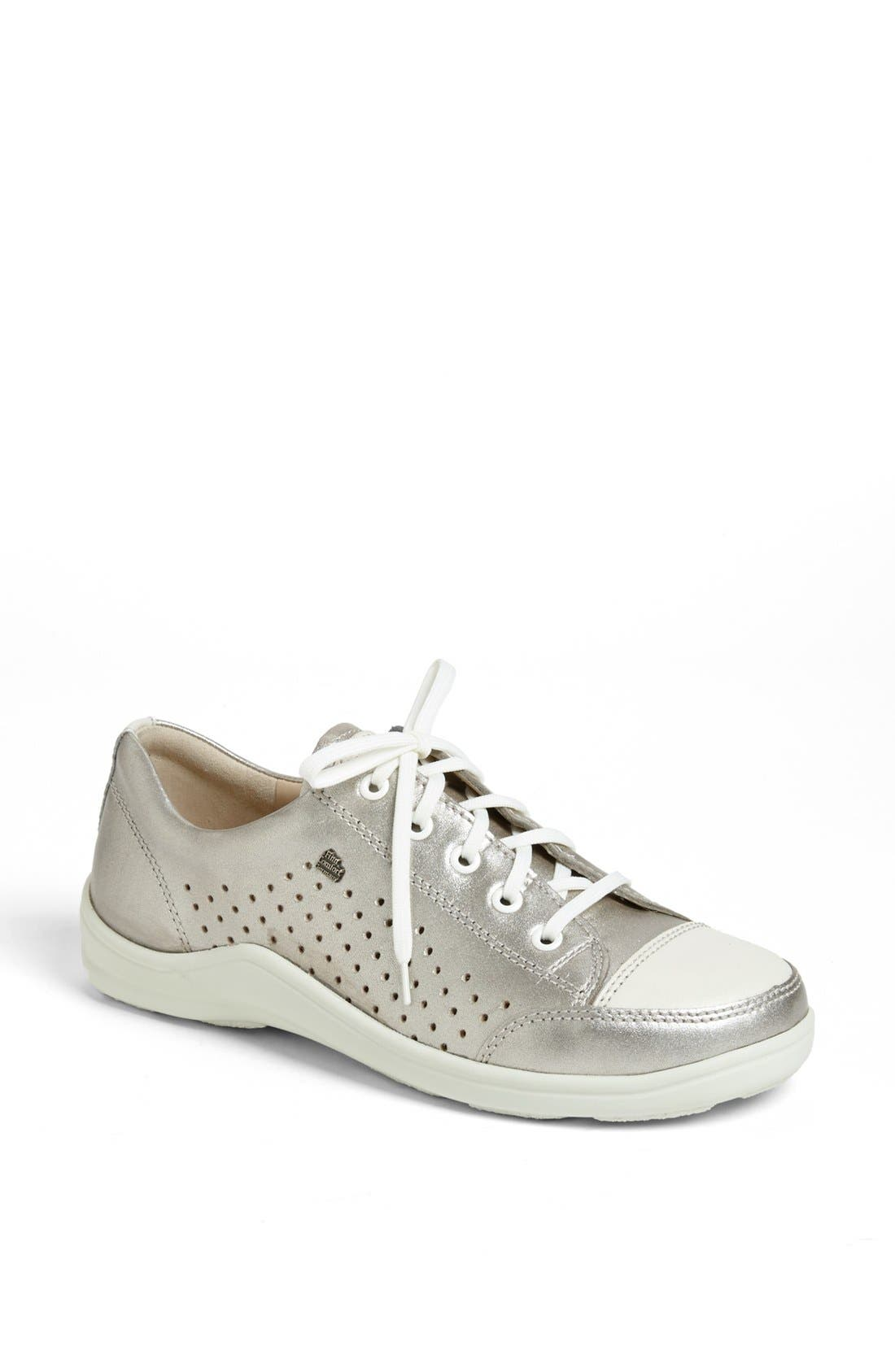 Perforated Sneaker,                         Main,                         color, SMOG