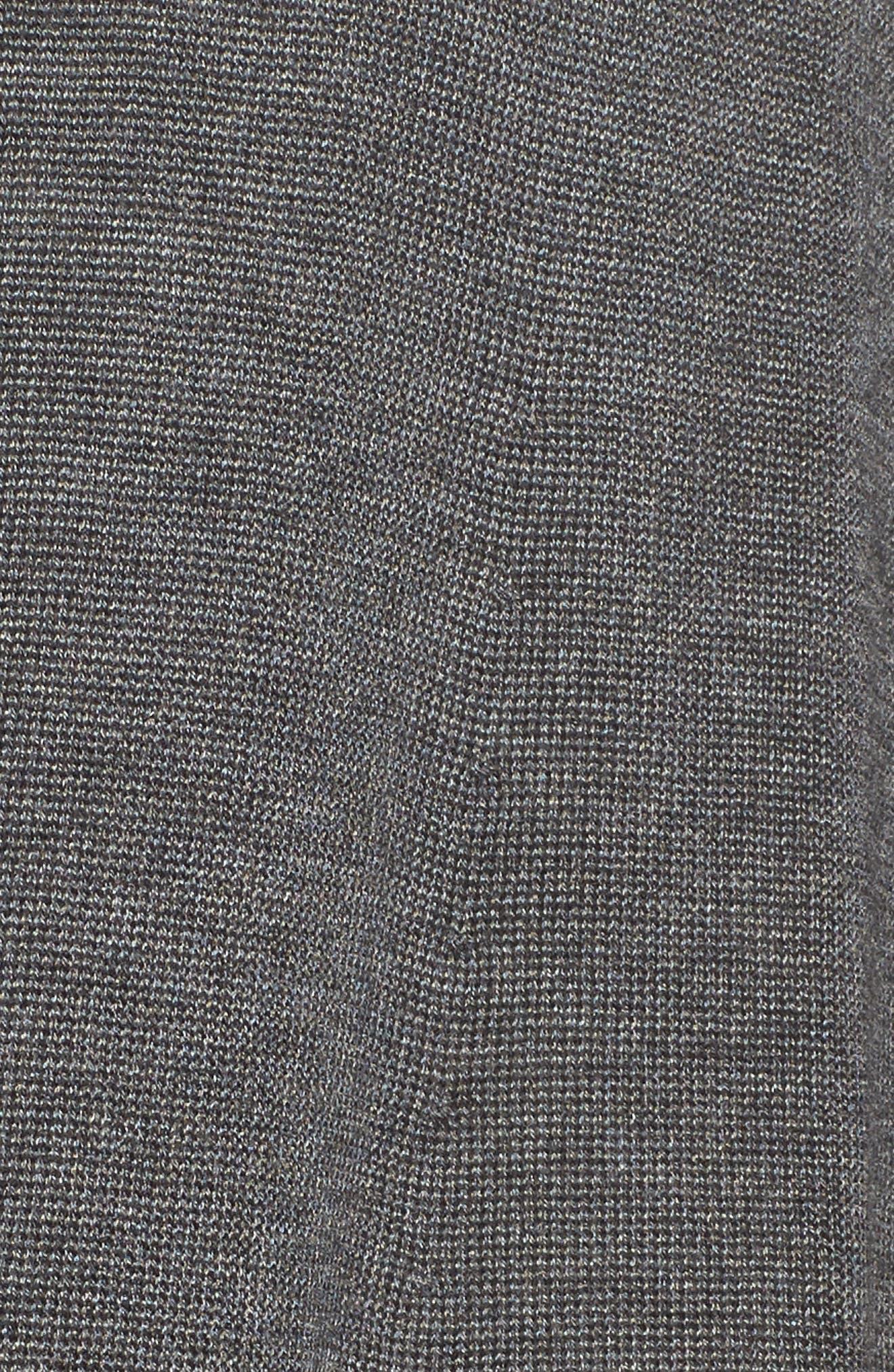Shaped Tencel<sup>®</sup> Lyocell & Merino Wool Cardigan,                             Alternate thumbnail 18, color,