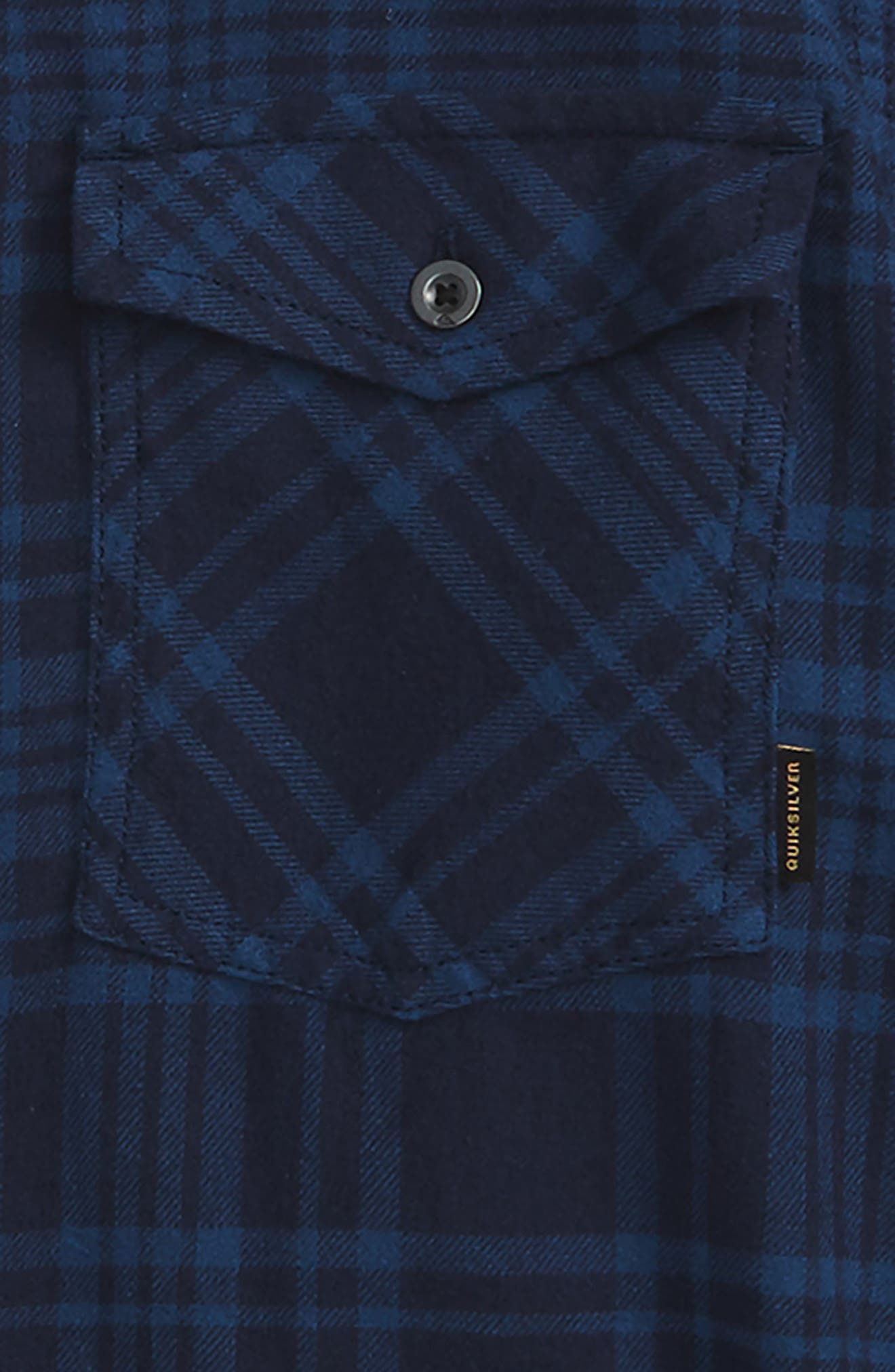 Hooded Plaid Woven Shirt,                             Alternate thumbnail 4, color,