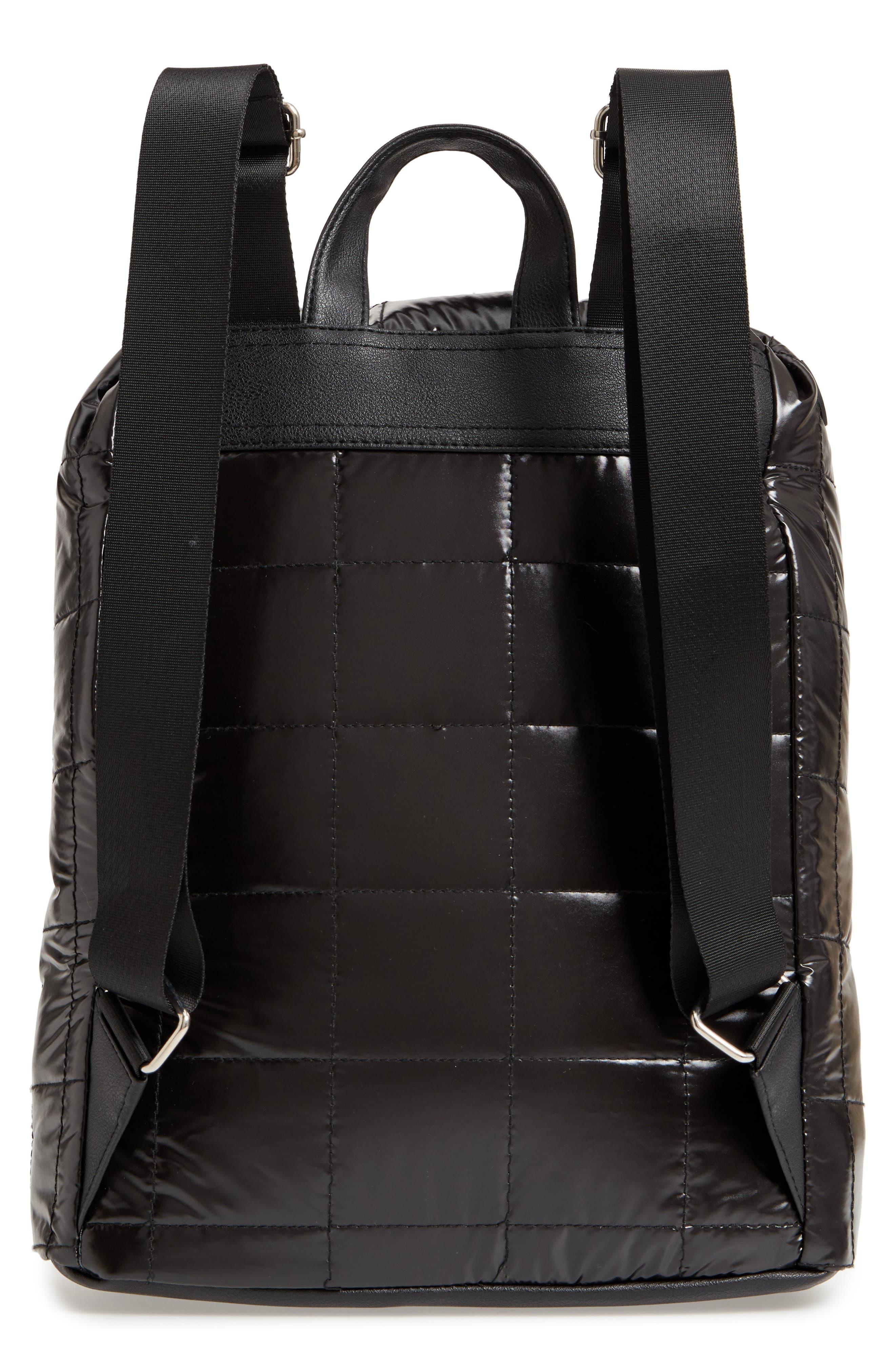 Puffer Backpack,                             Alternate thumbnail 3, color,                             001