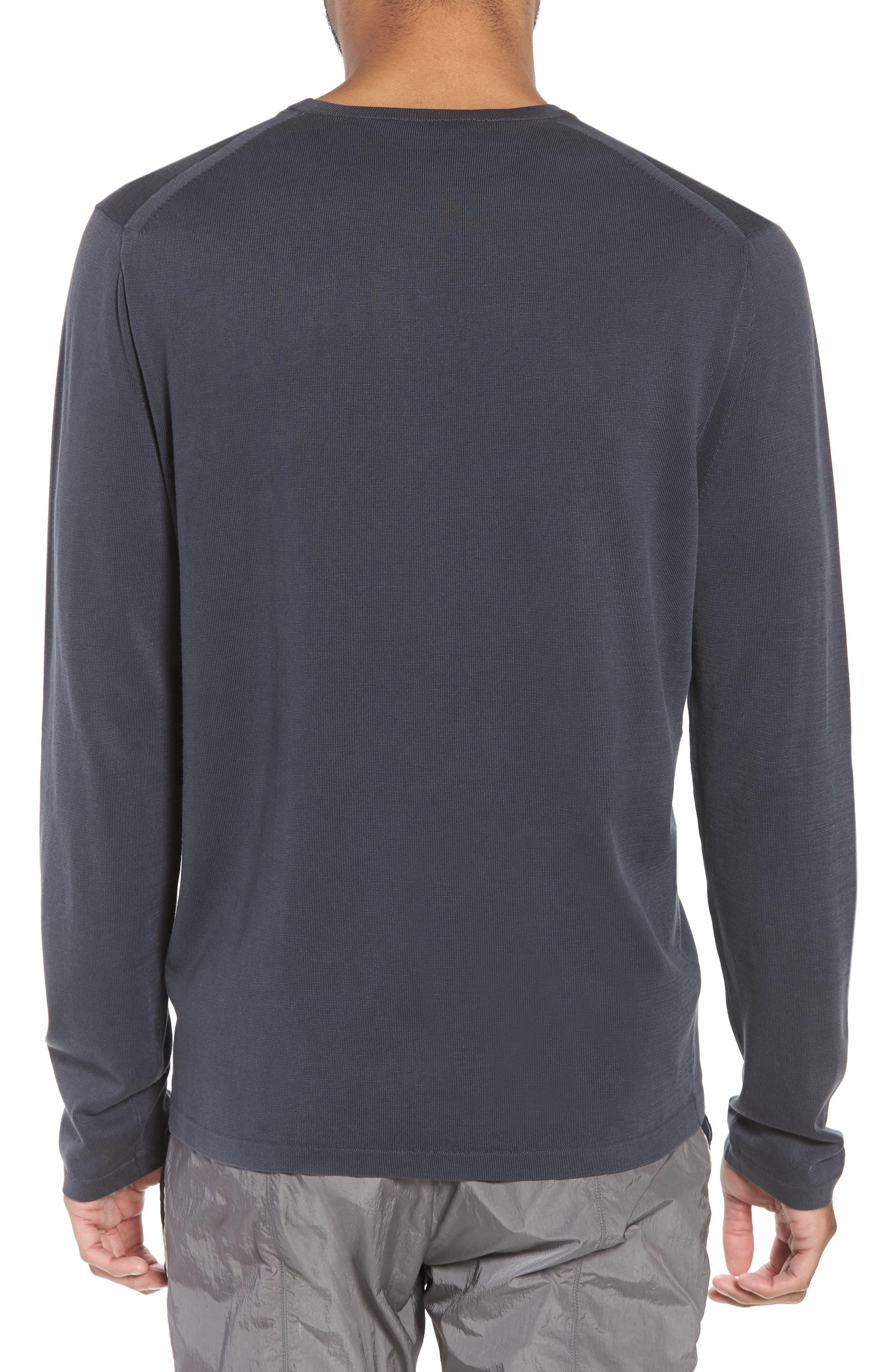 Crewneck Cotton Sweater,                             Alternate thumbnail 2, color,                             061