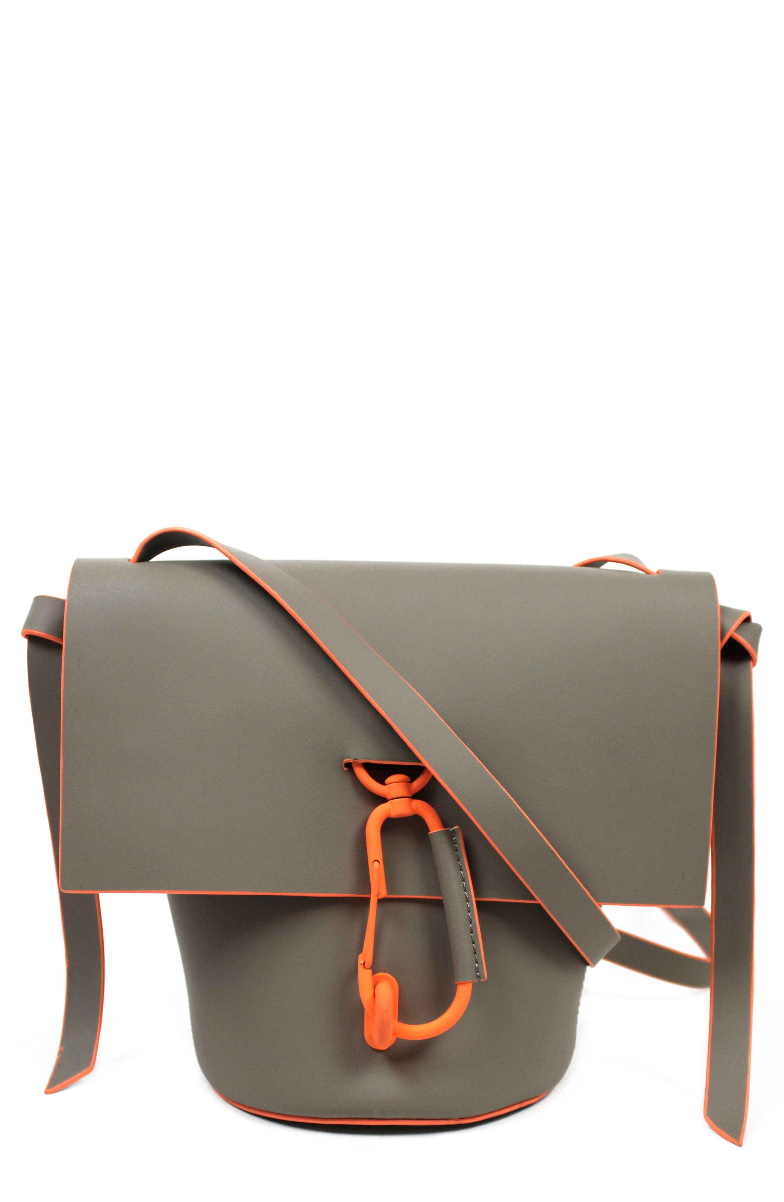 Belay Leather Crossbody Bag,                             Main thumbnail 1, color,                             022