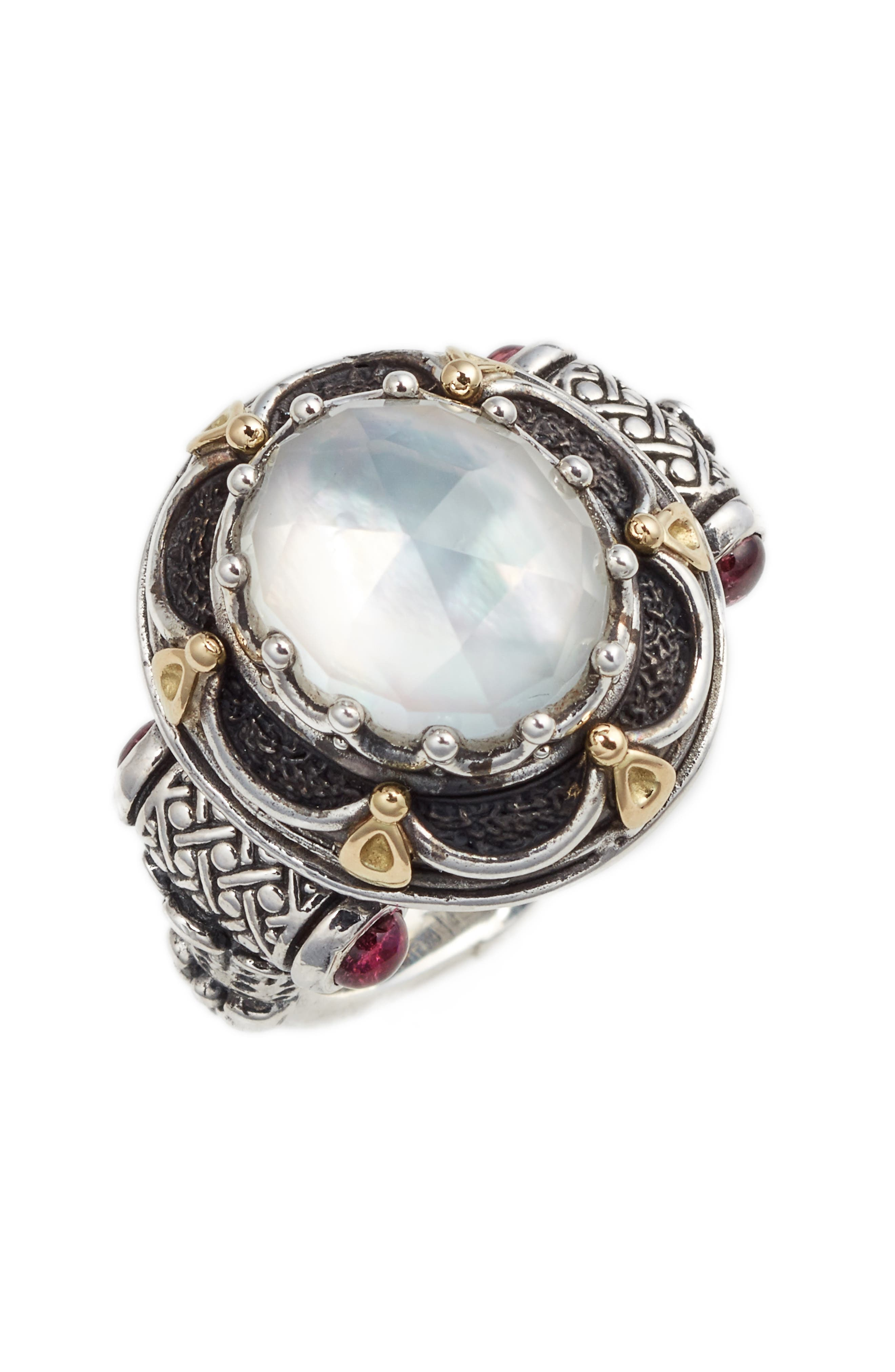 Nemesis Semiprecious Stone Ring,                             Main thumbnail 2, color,