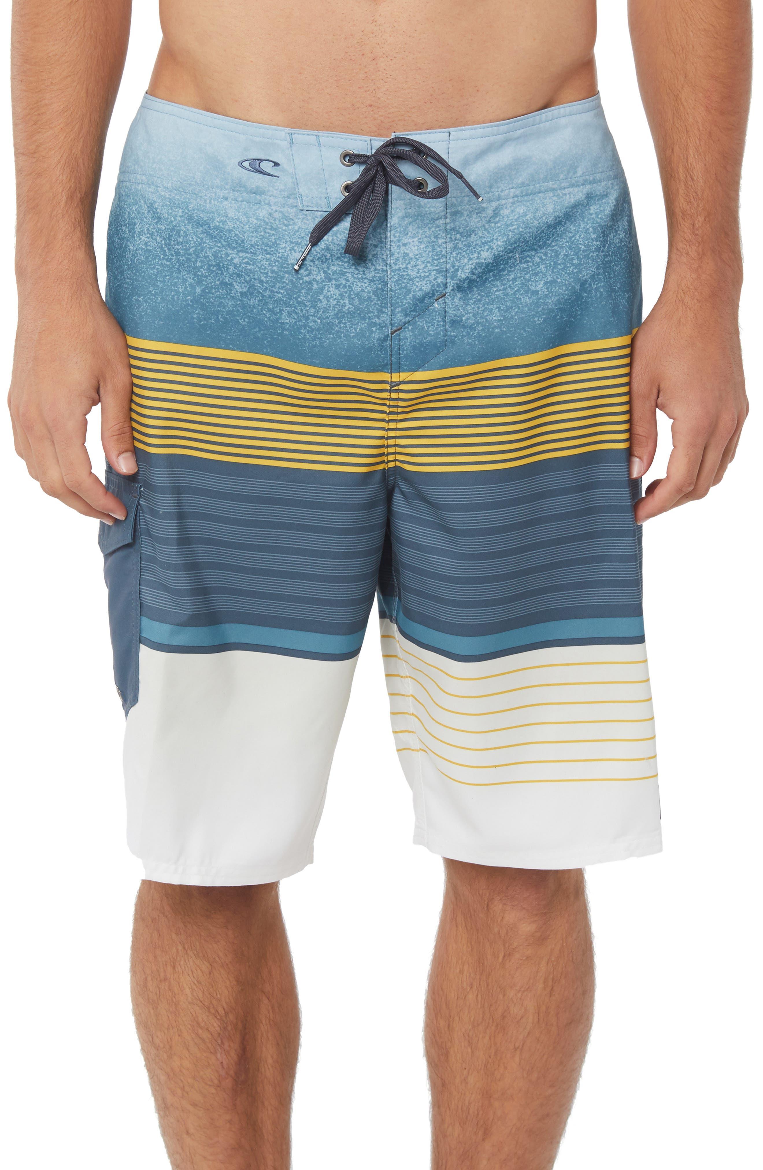 Lennox Board Shorts,                         Main,                         color, SLATE