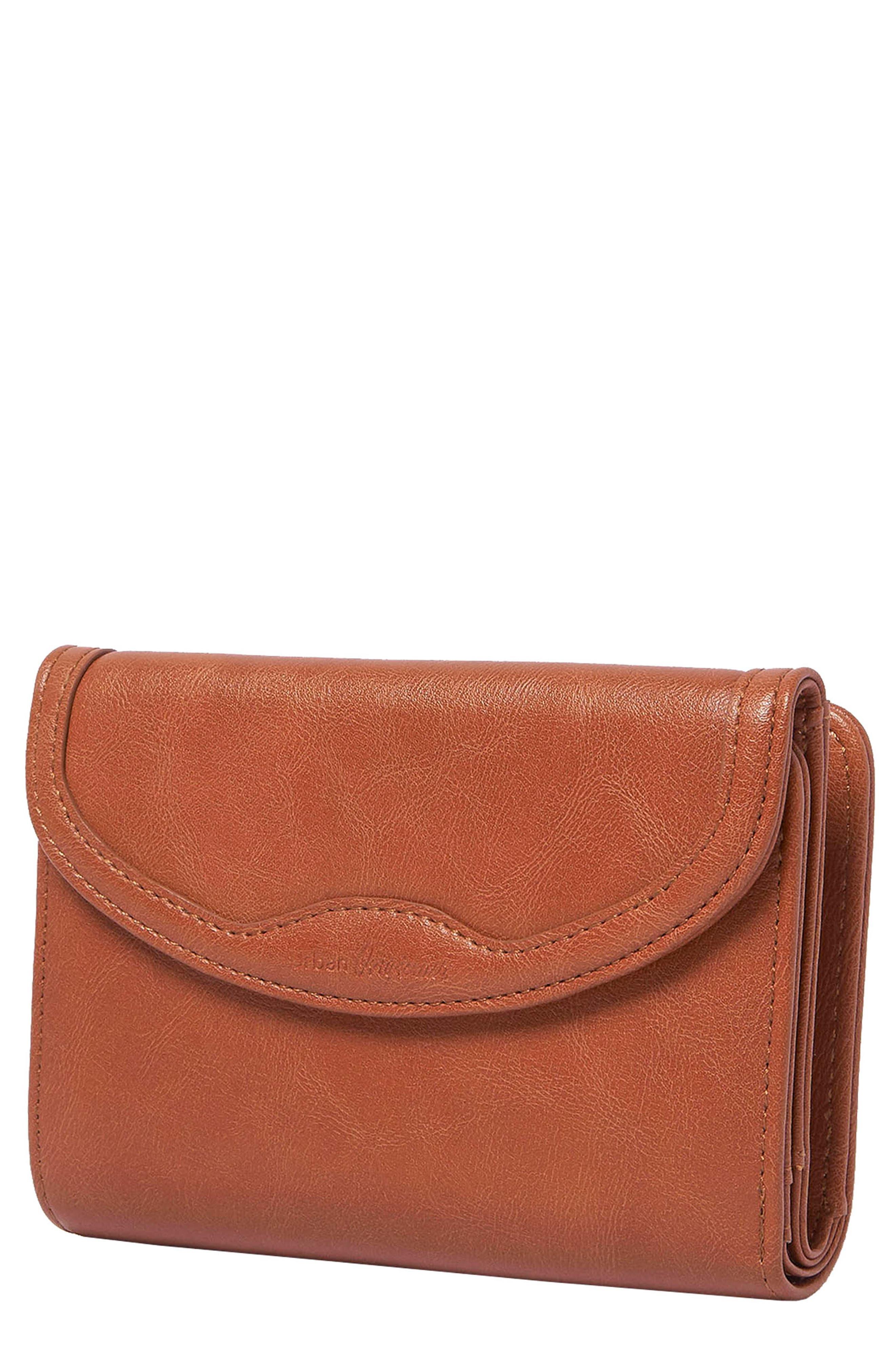 Queen Bee Vegan Leather Wallet - Brown in Tan