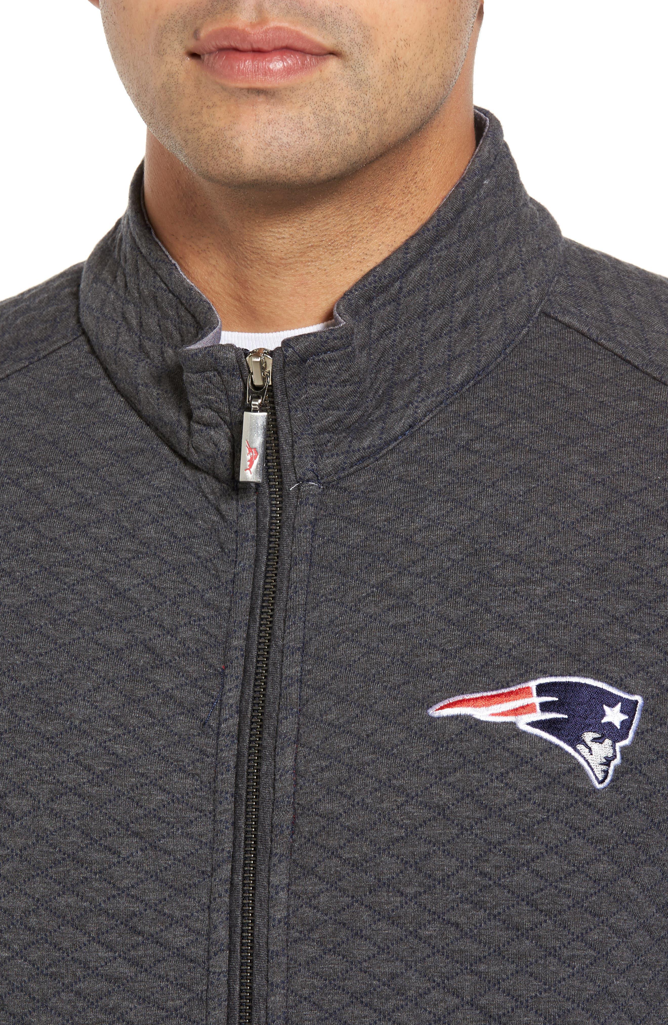 NFL Quiltessential Full Zip Sweatshirt,                             Alternate thumbnail 115, color,