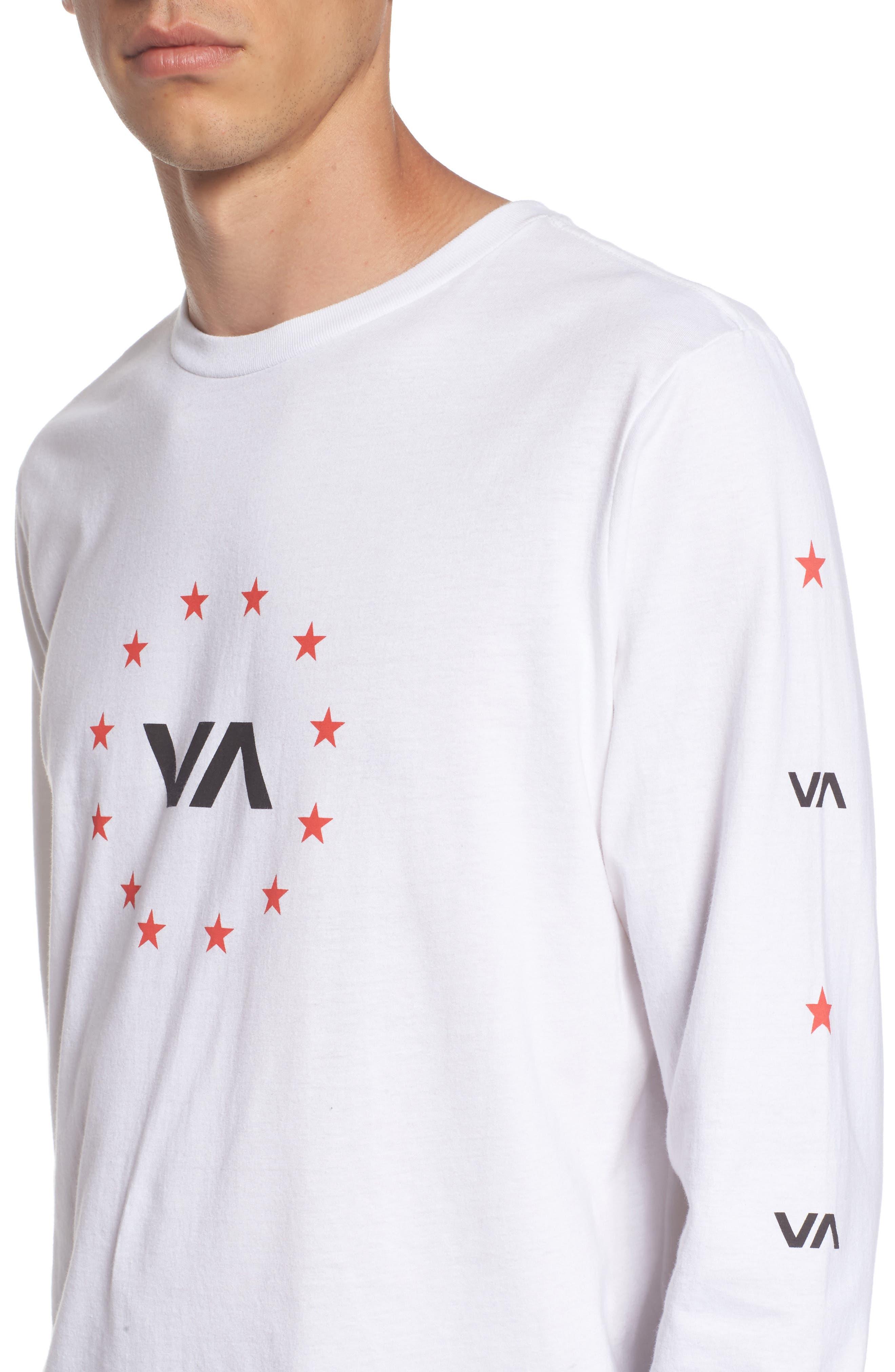 Star Circle Graphic T-Shirt,                             Alternate thumbnail 11, color,