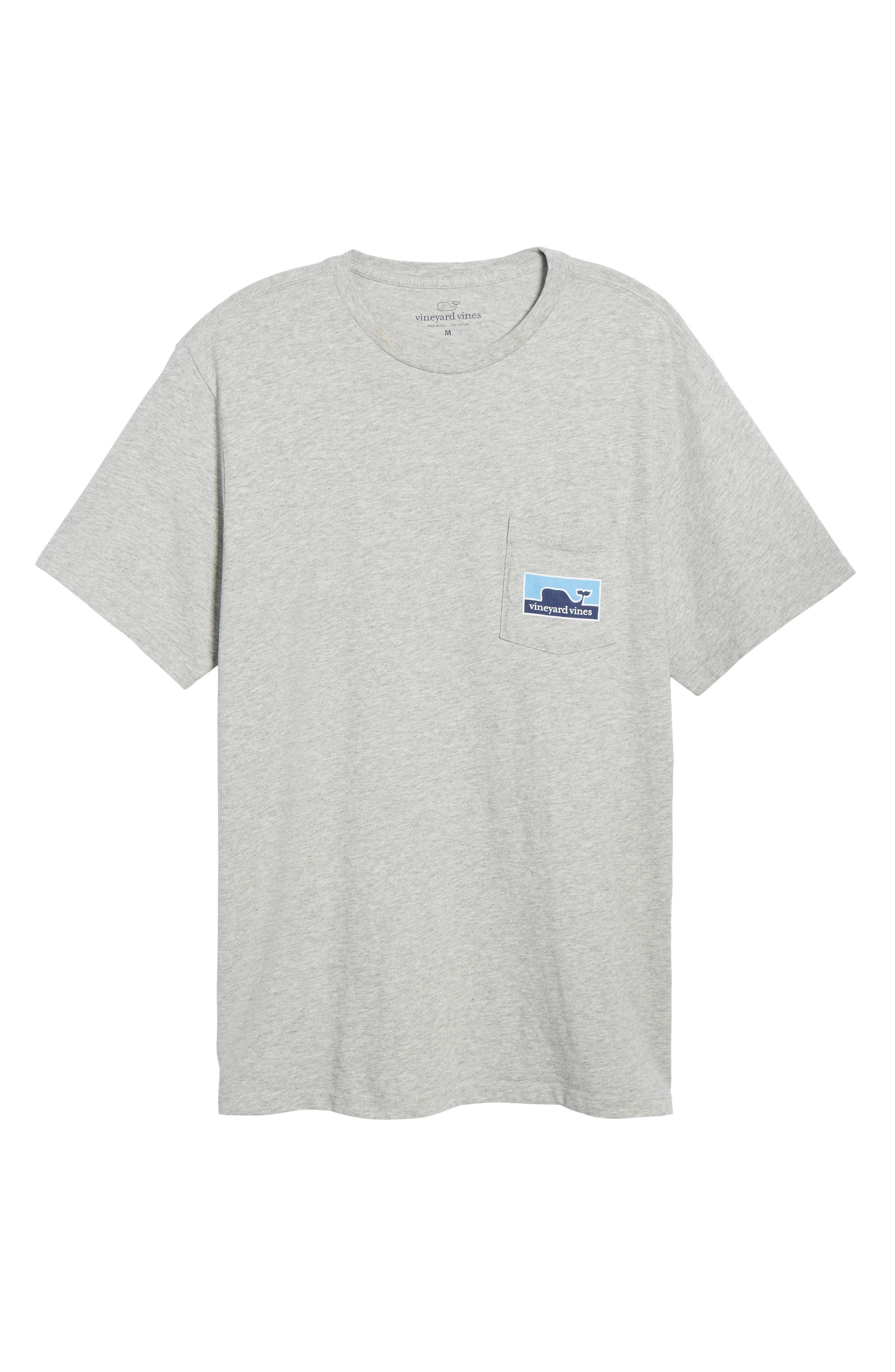 VINEYARD VINES,                             Whaleline Graphic Pocket T-Shirt,                             Alternate thumbnail 6, color,                             039