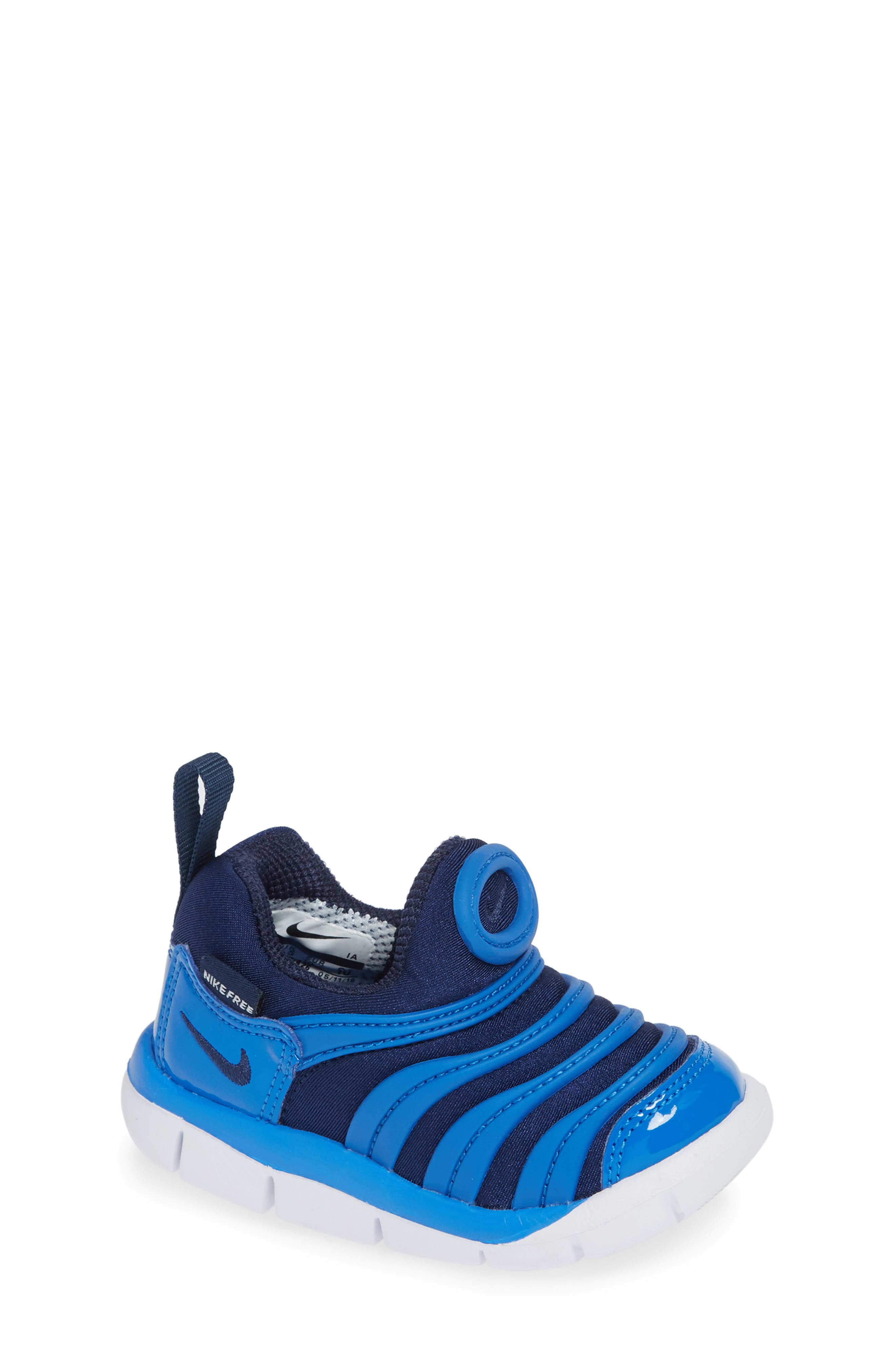 Dynamo Free Sneaker,                         Main,                         color, SIGNAL BLUE/ MIDNIGHT/ WHITE