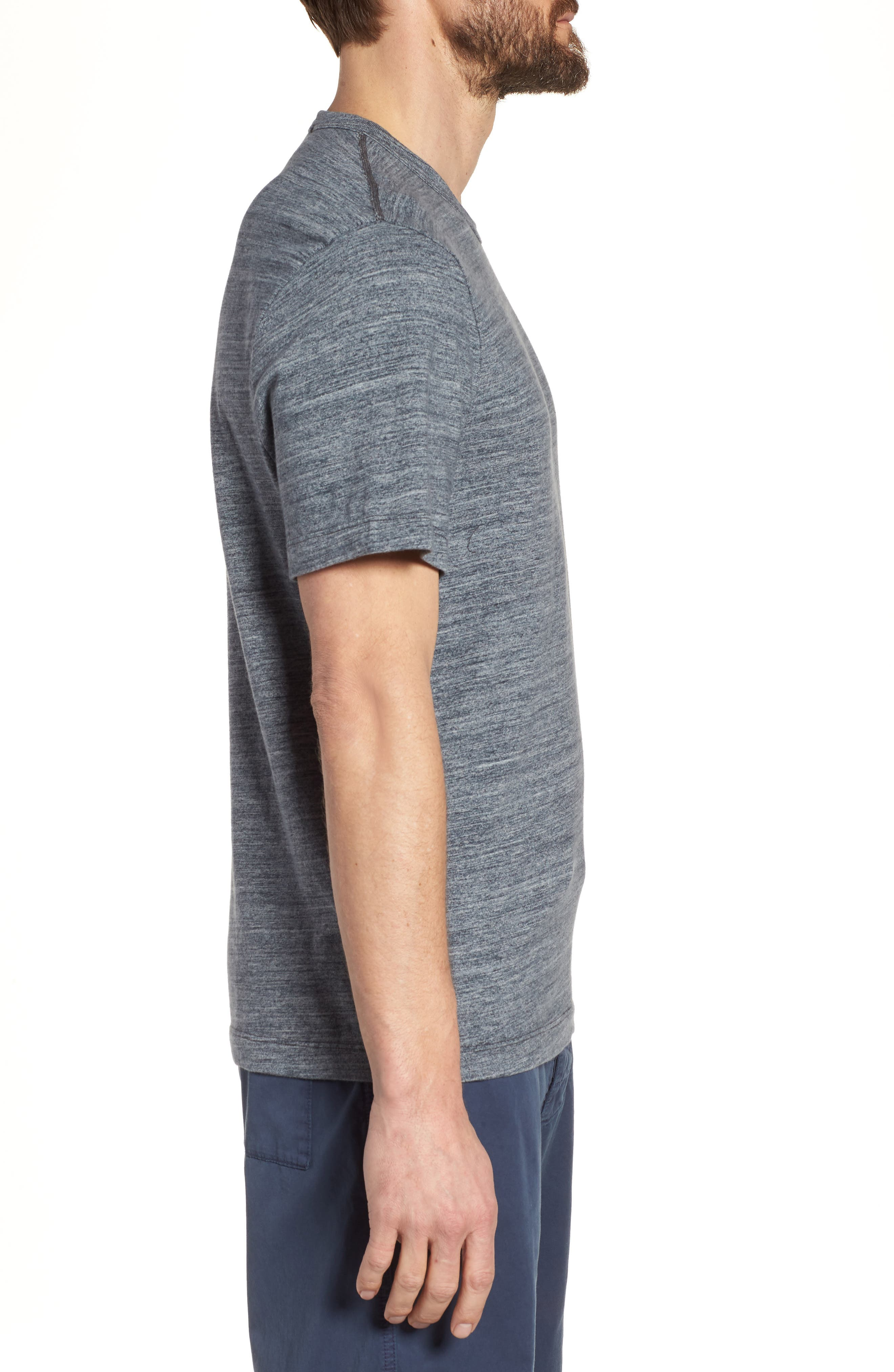 Regular Fit Top Dyed Crewneck T-Shirt,                             Alternate thumbnail 7, color,
