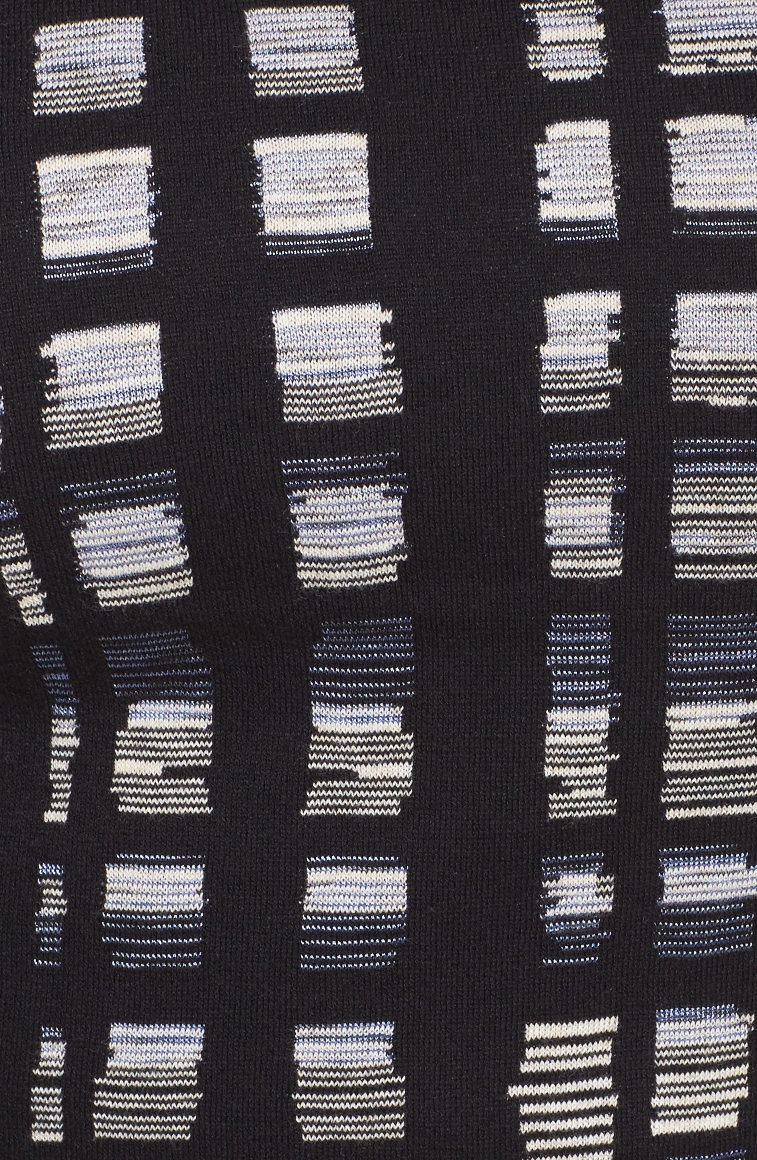 Crystal Cove Sweater,                             Alternate thumbnail 5, color,                             BLACK MULTI