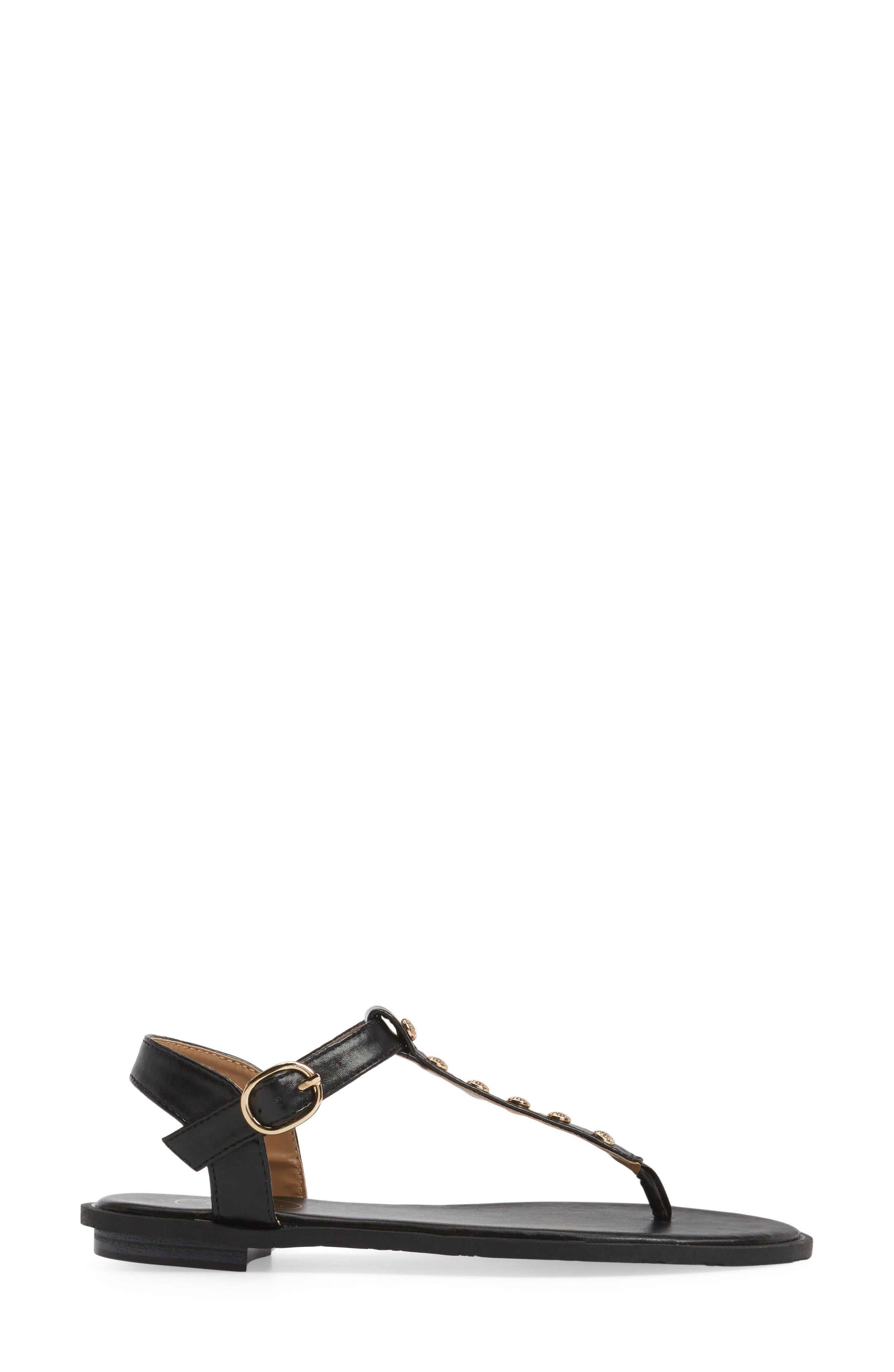 Kamri T-Strap Sandal,                             Alternate thumbnail 7, color,