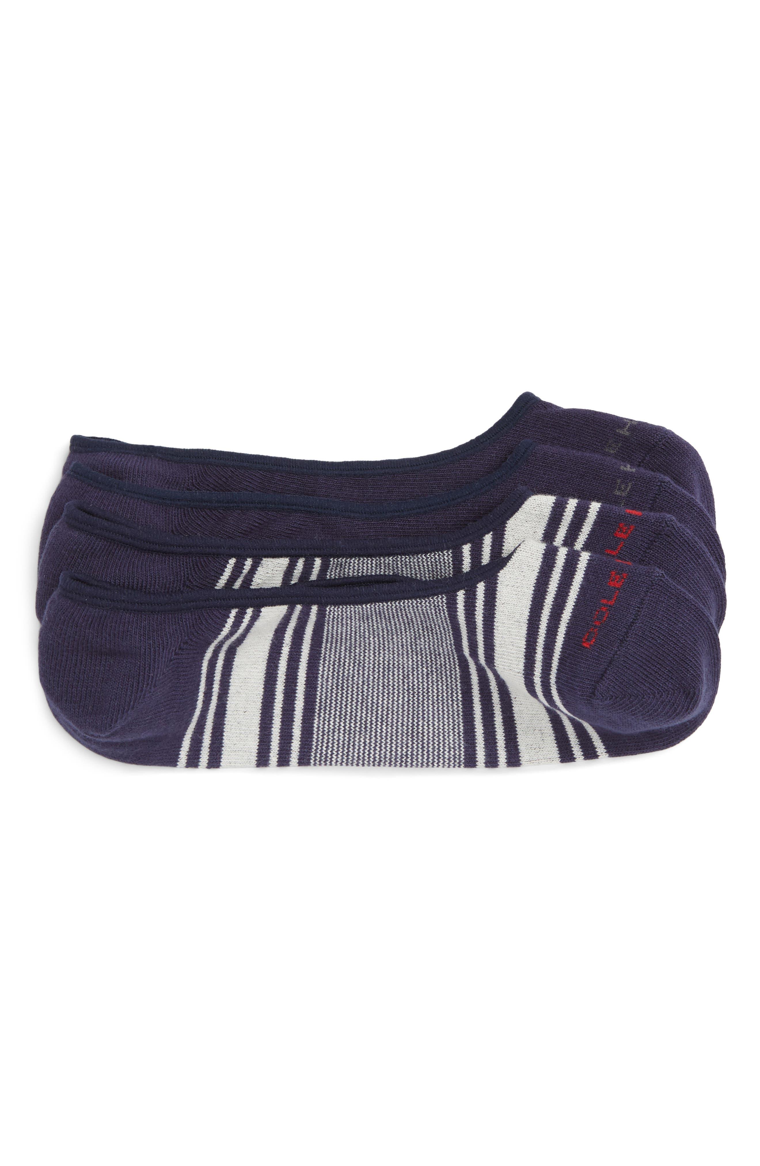 2-Pack No-Show Socks,                         Main,                         color, GREY MULTI