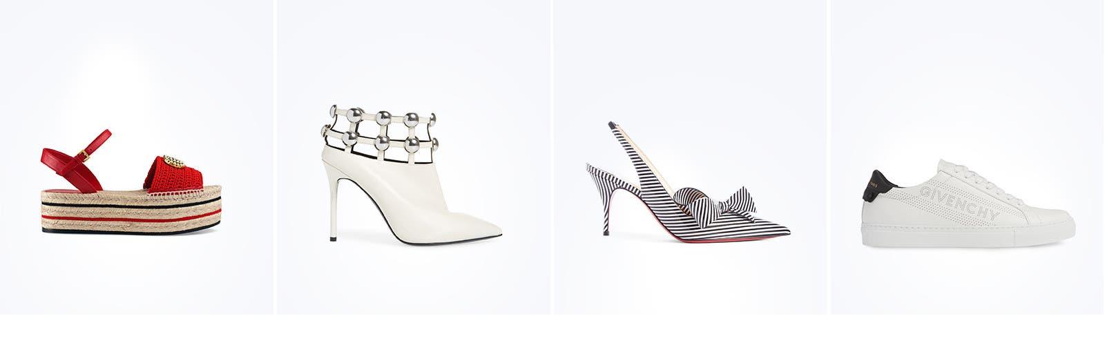 Designer shoes for women.
