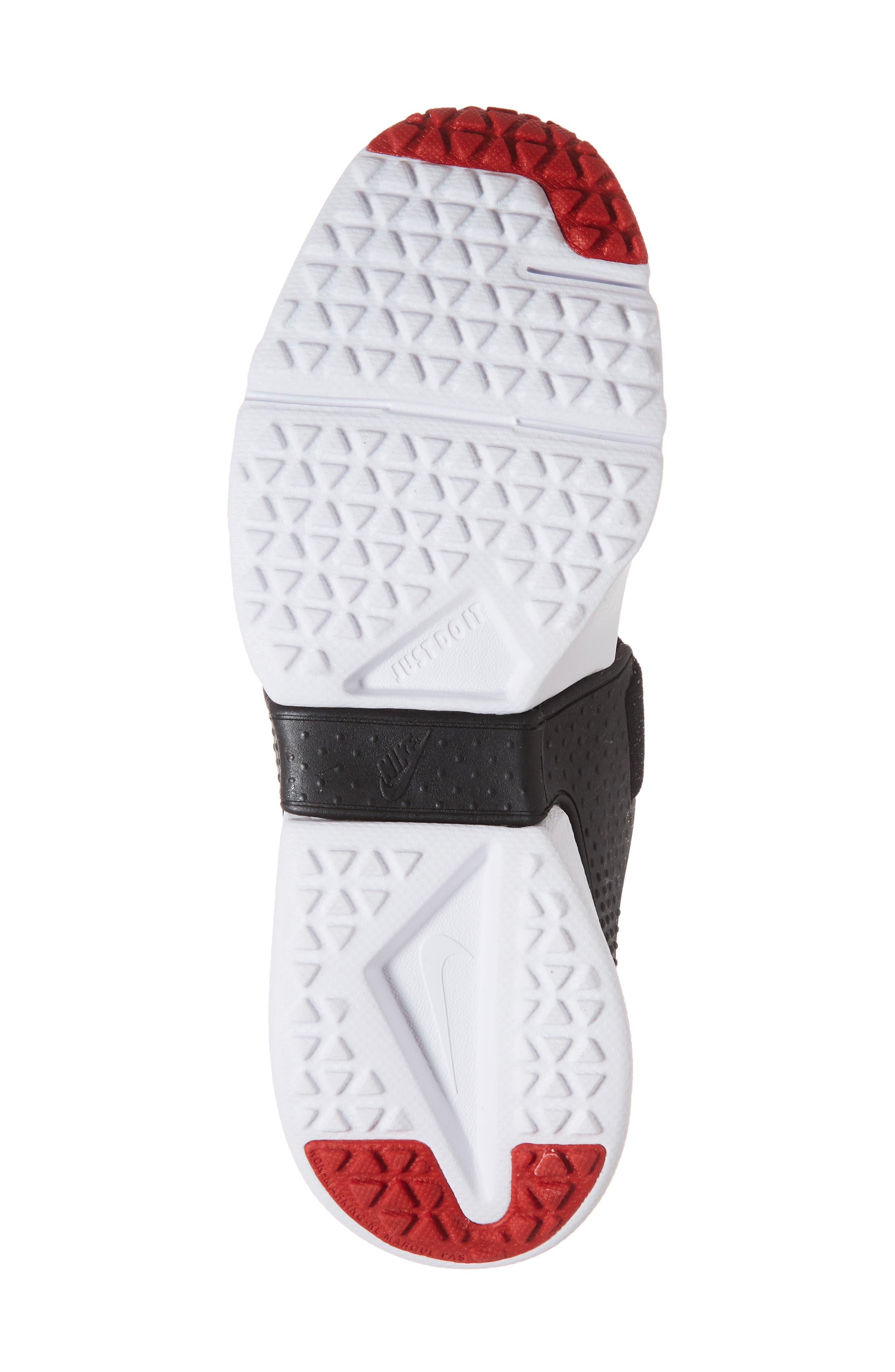 Huarache Extreme Sneaker,                             Alternate thumbnail 6, color,                             RED/ GREY/ BLACK/ WHITE