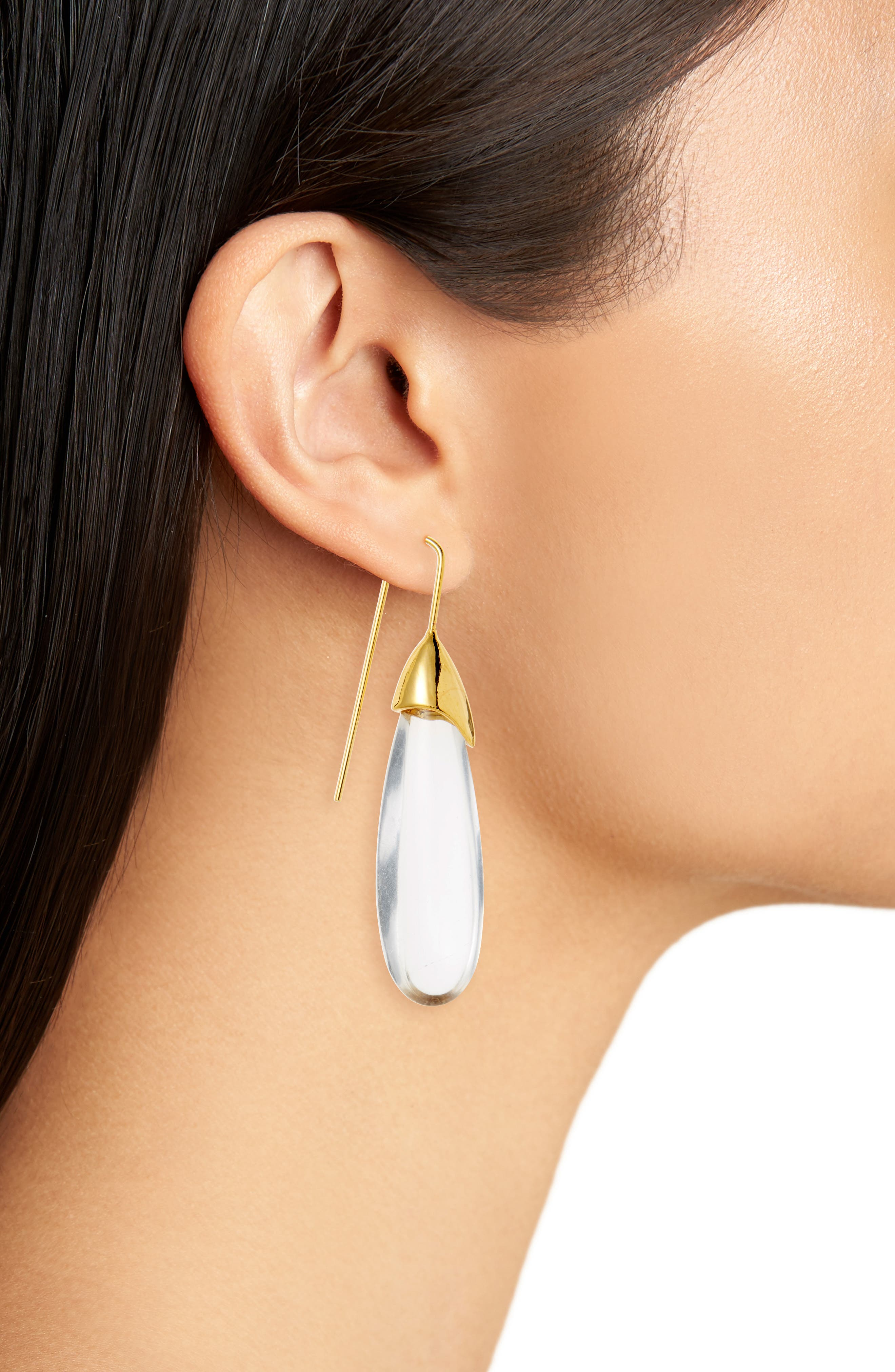 Rock of Ages Drop Earrings,                             Alternate thumbnail 2, color,                             710