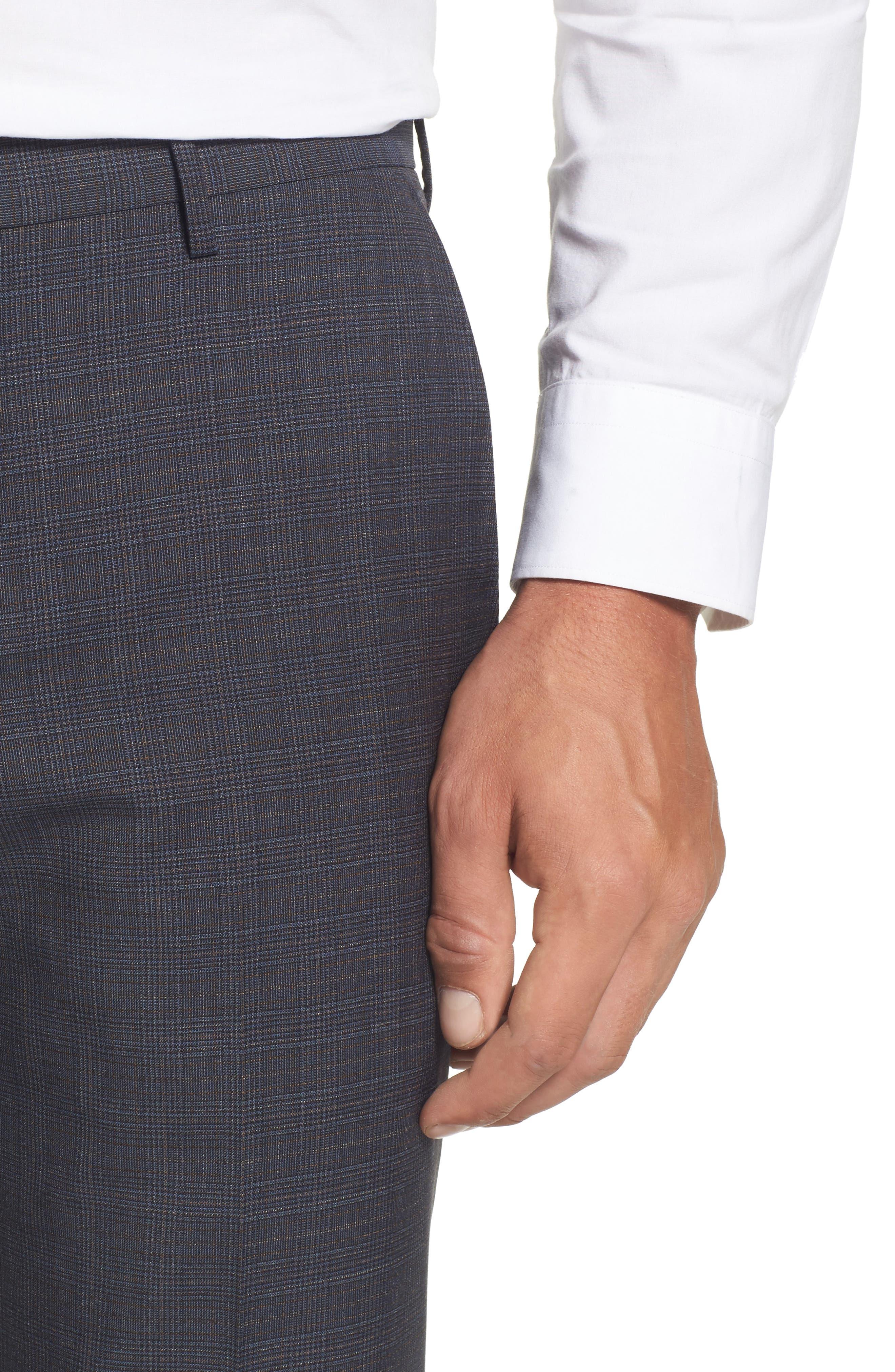 Benso Regular Fit Trousers,                             Alternate thumbnail 5, color,                             410