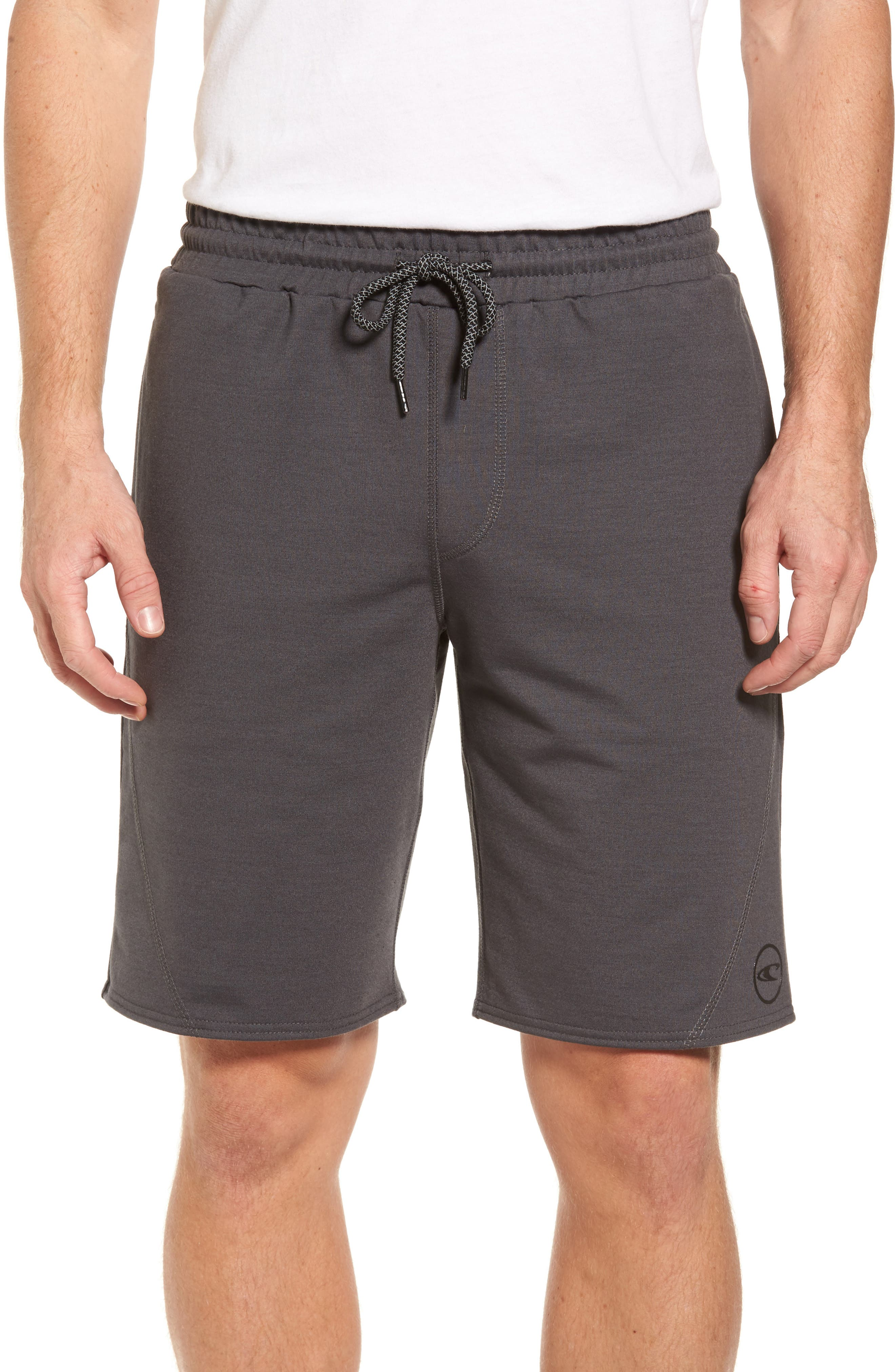 Traveler Fleece Shorts,                             Main thumbnail 1, color,                             020