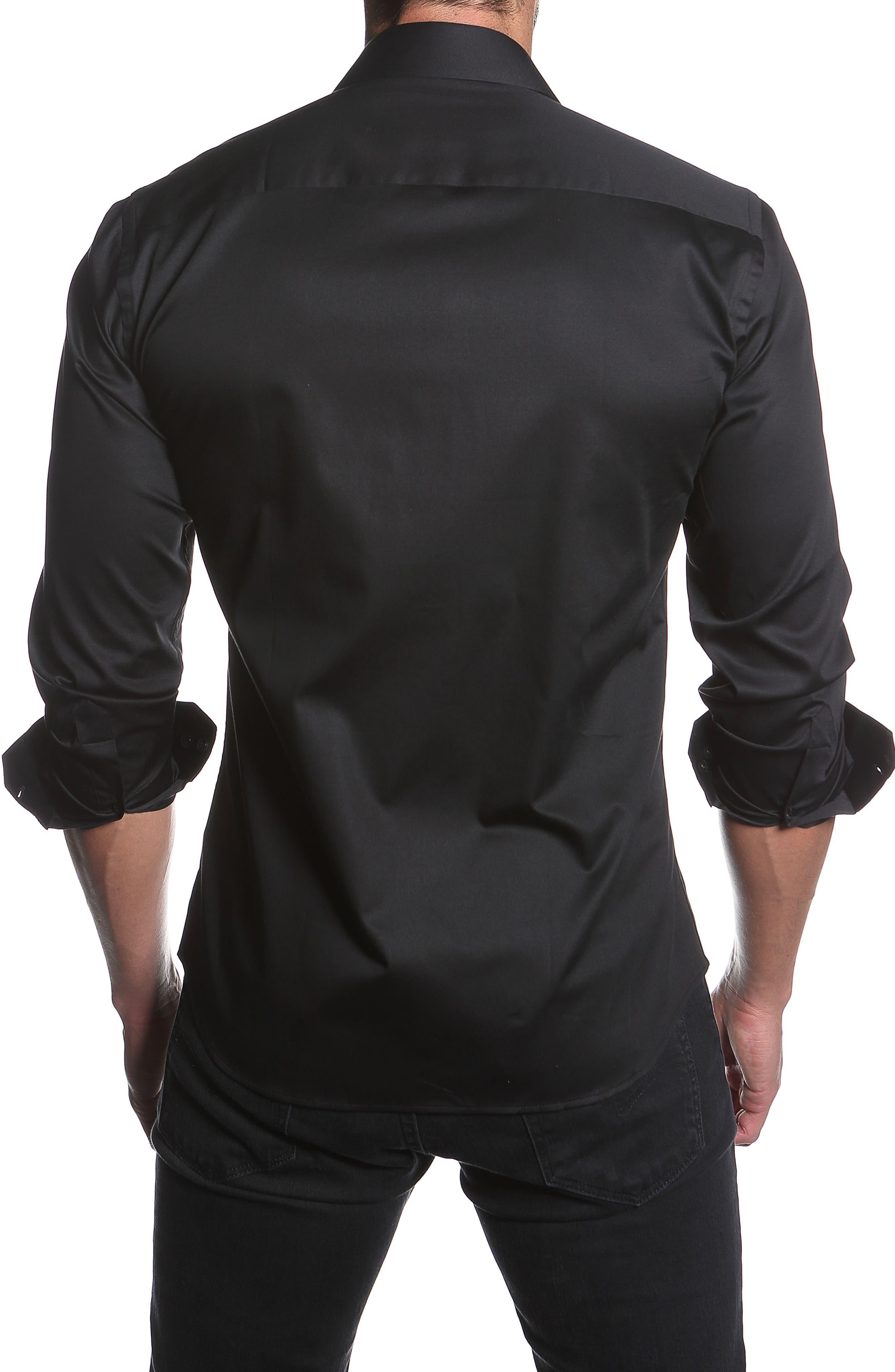 Trim Fit Sport Shirt,                             Alternate thumbnail 2, color,                             001