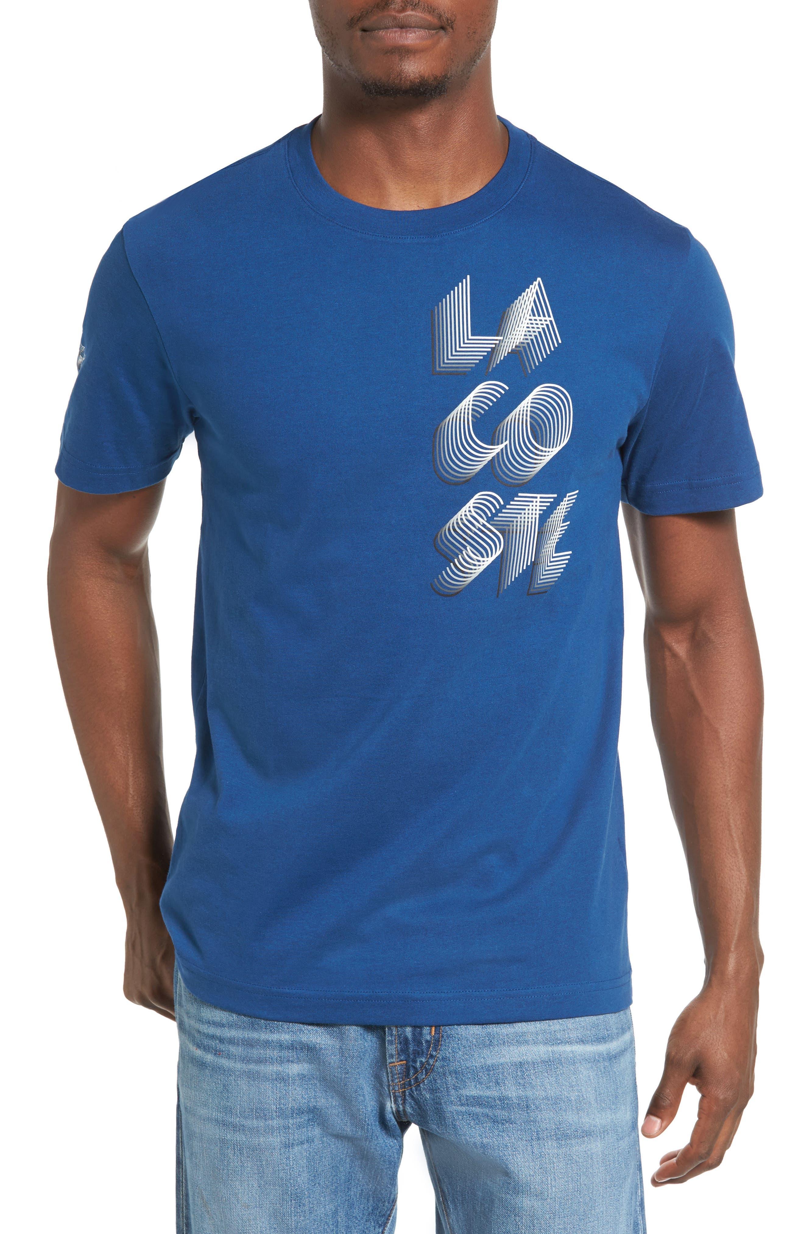 3D Print Logo Graphic T-Shirt,                             Main thumbnail 4, color,
