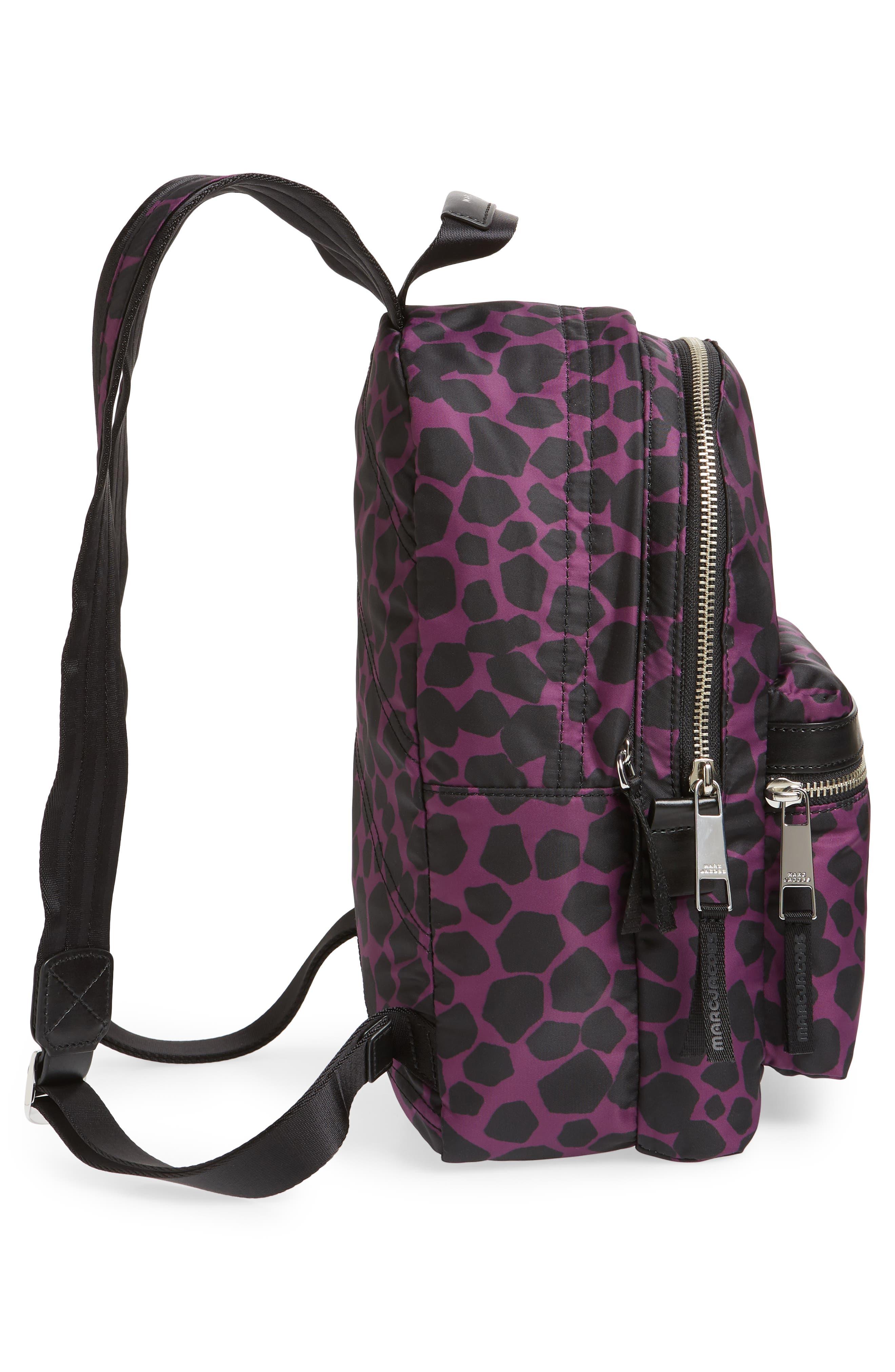 Medium Trek Pack Pebbles Backpack,                             Alternate thumbnail 5, color,                             BERRY MULTI