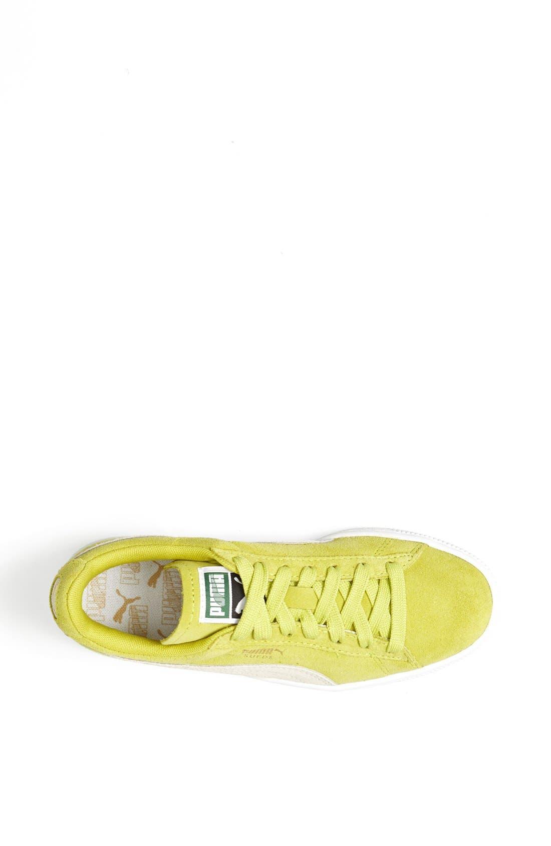 Suede Sneaker,                             Alternate thumbnail 84, color,