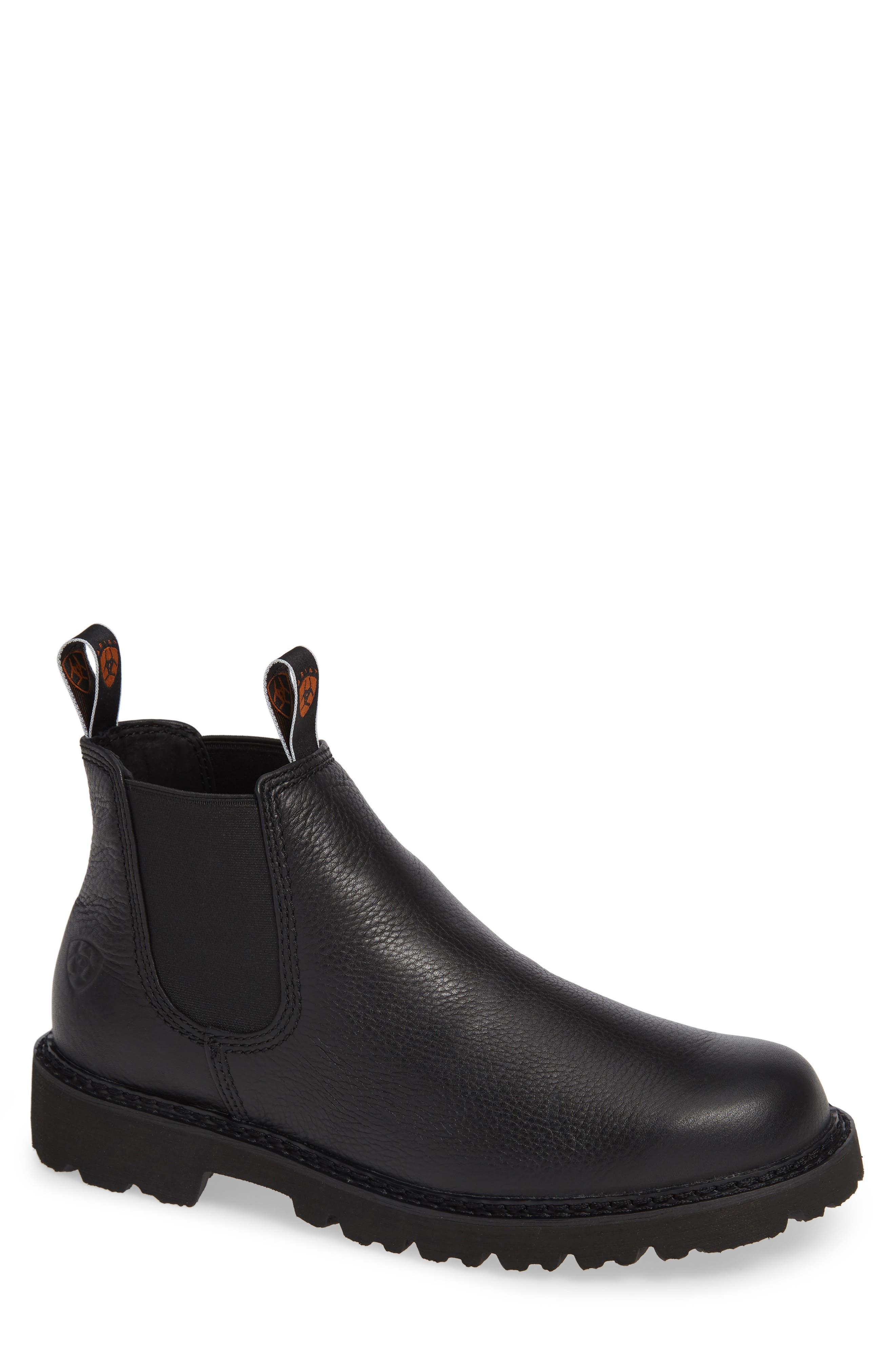 Ariat Spothog Chelsea Boot- Black