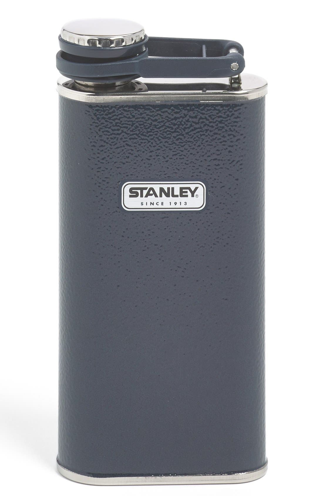 'Classic' Stainless Steel Flask,                             Main thumbnail 1, color,                             410