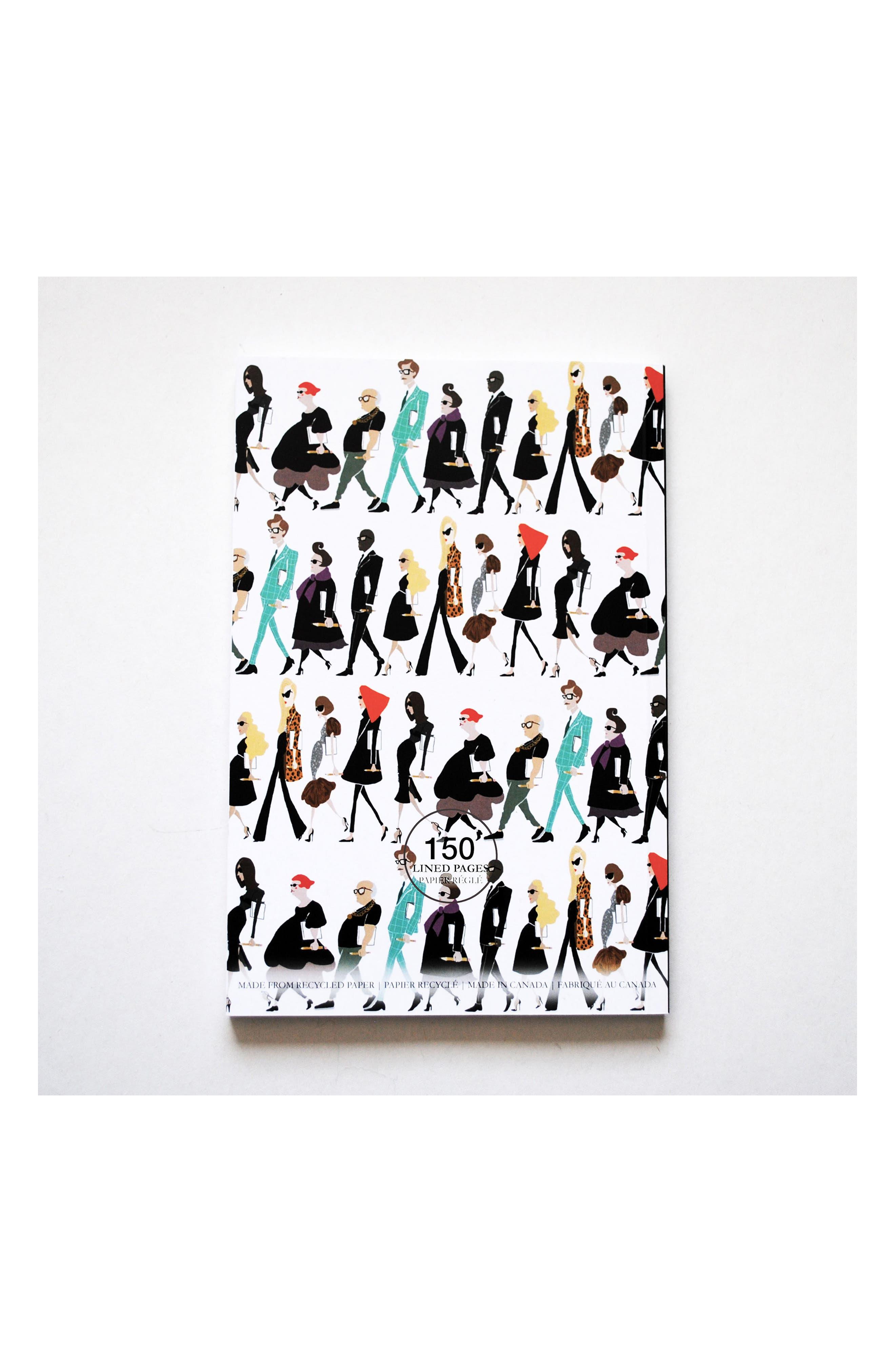Fashion Notes Journal,                             Alternate thumbnail 3, color,
