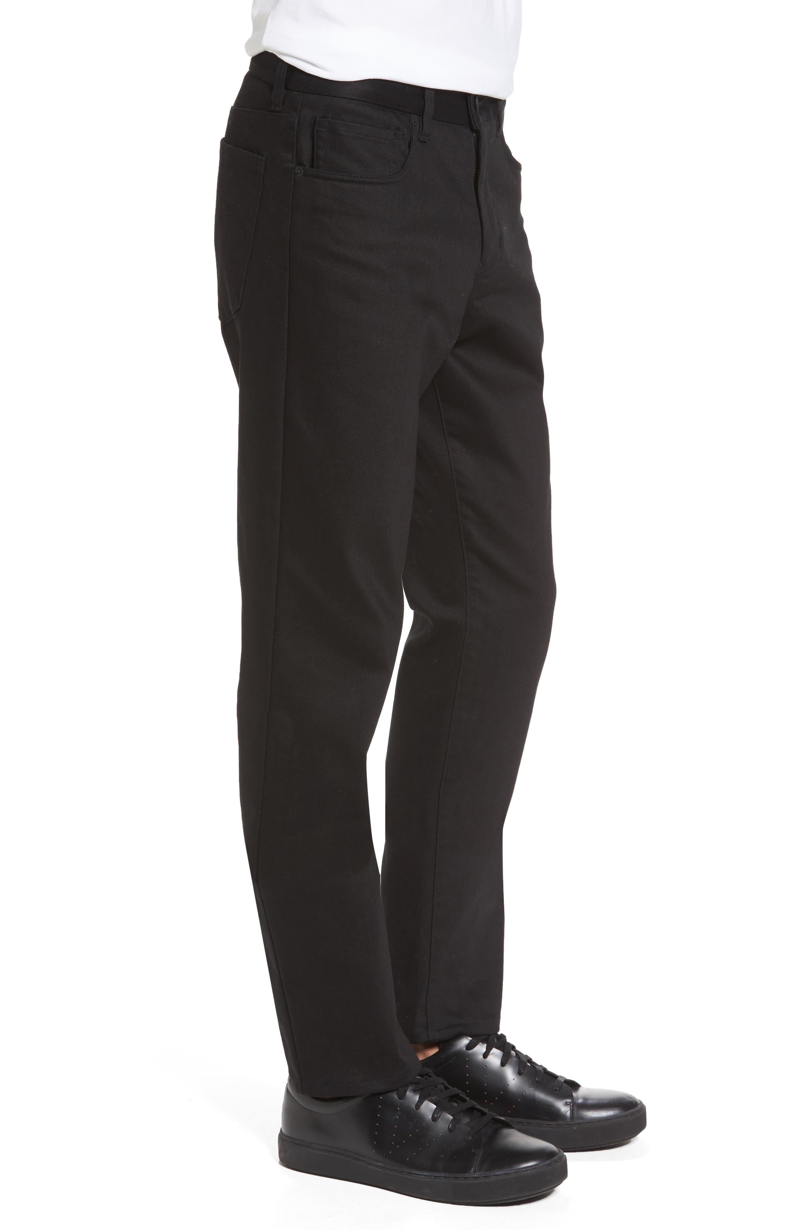 Stretch Twill 5-Pocket Pants,                             Alternate thumbnail 5, color,