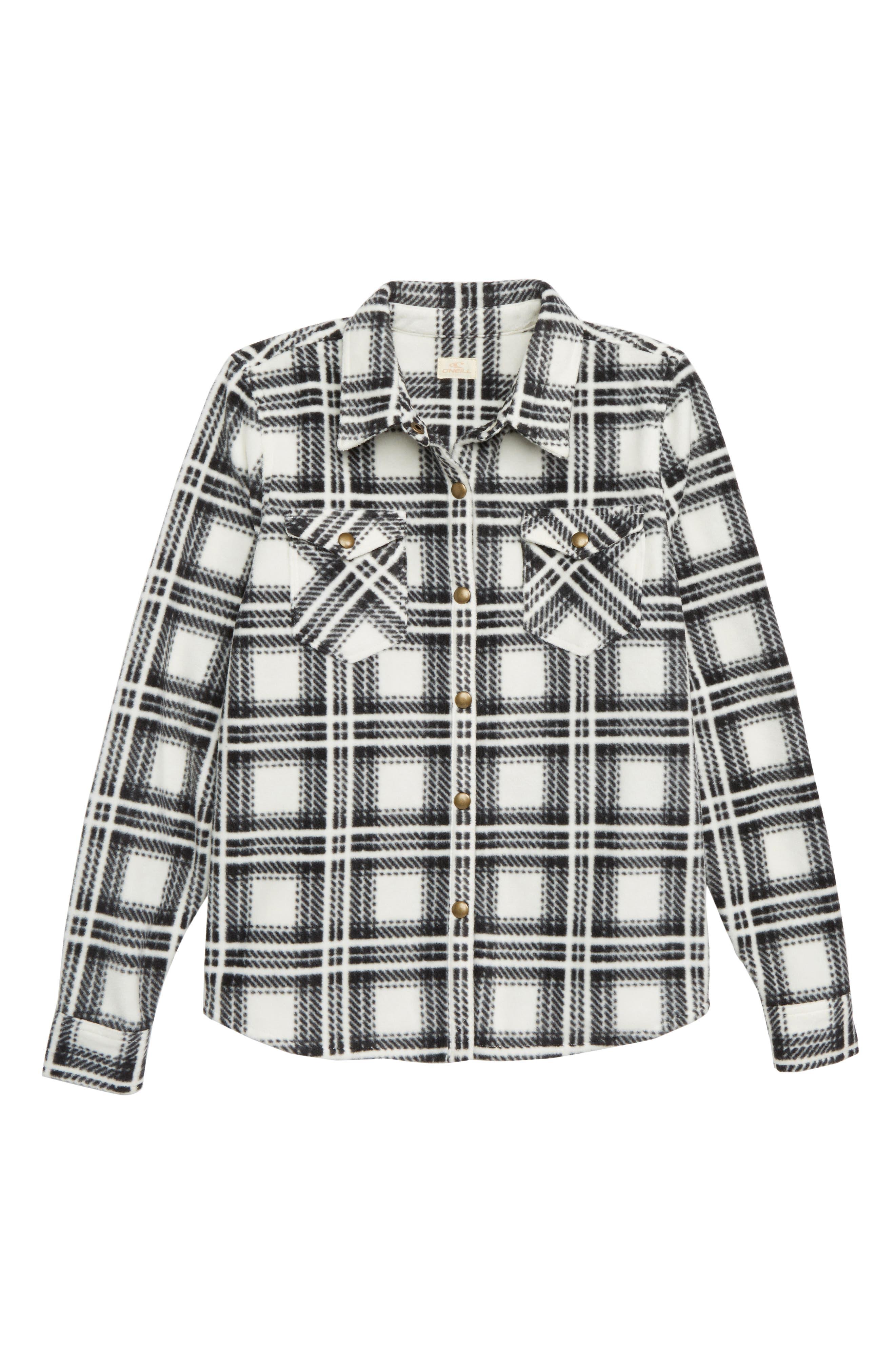Fun Times Fleece Shirt, Main, color, NAKED