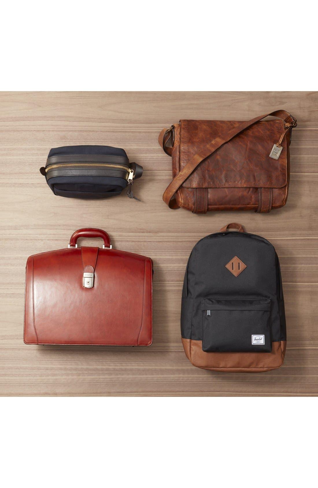 'Logan' Messenger Bag,                             Alternate thumbnail 7, color,                             NAVY