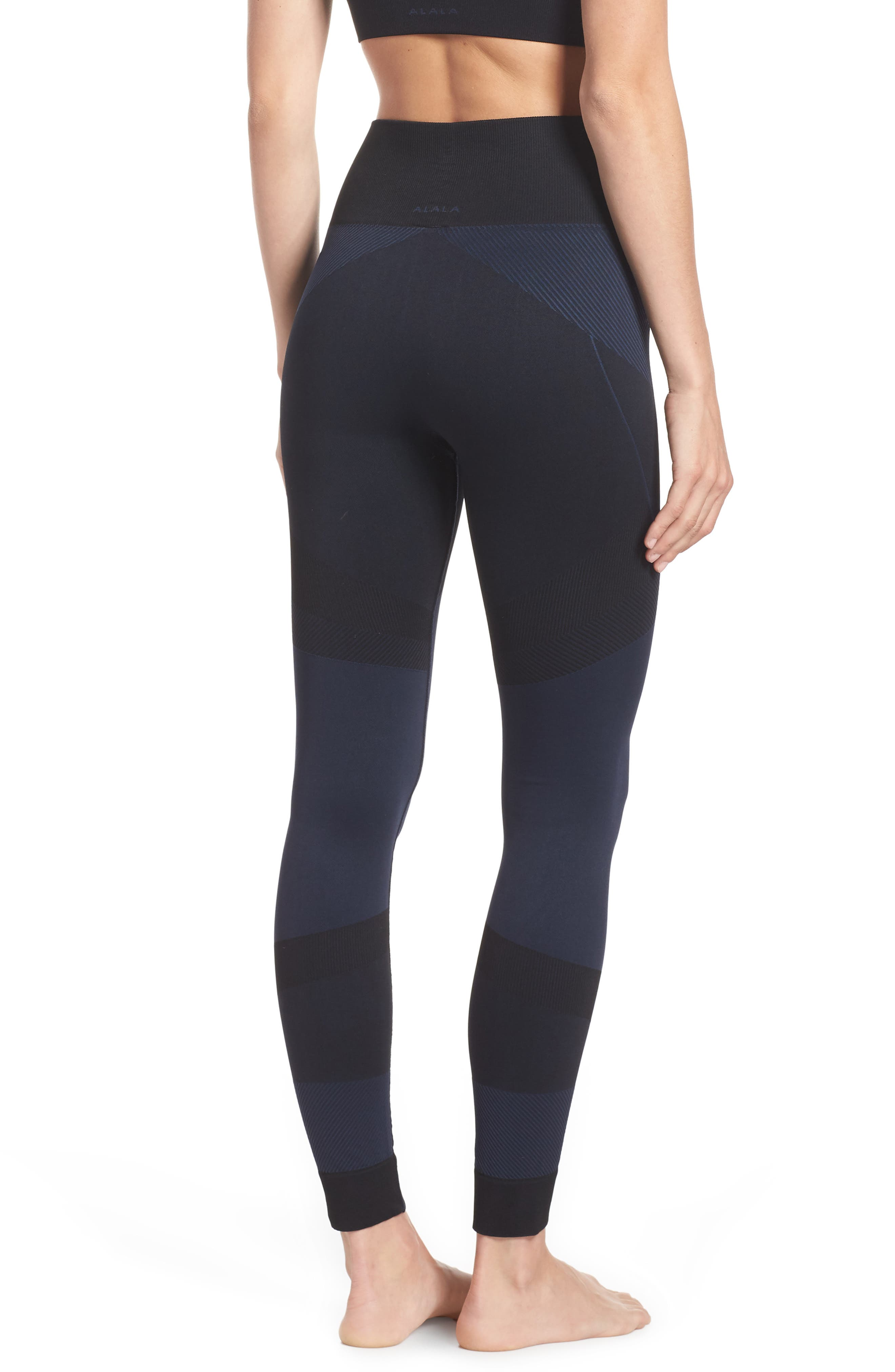 Score High Waist Leggings,                             Alternate thumbnail 2, color,