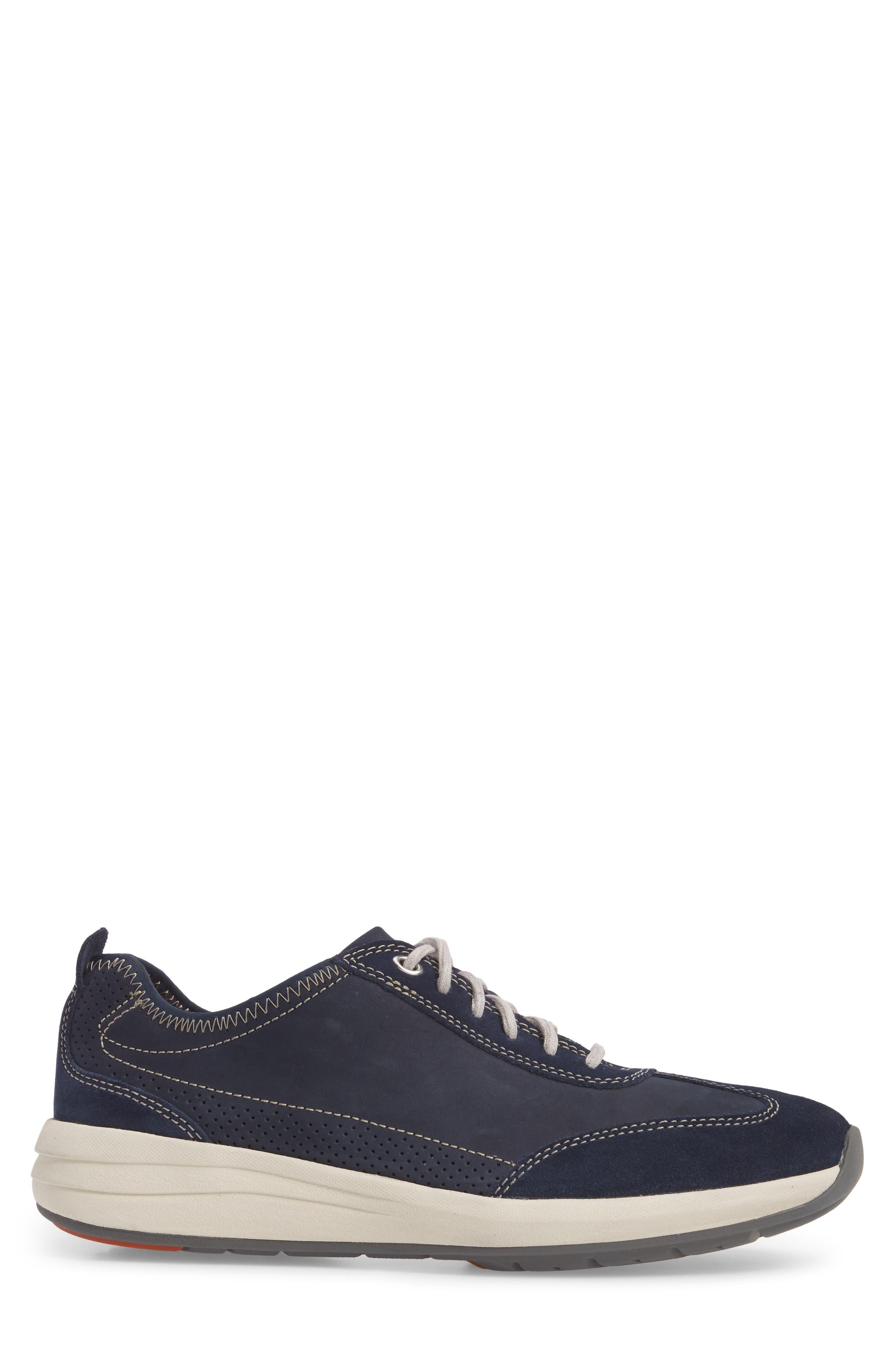 Clarks<sup>®</sup> Un Coast Low Top Sneaker,                             Alternate thumbnail 6, color,