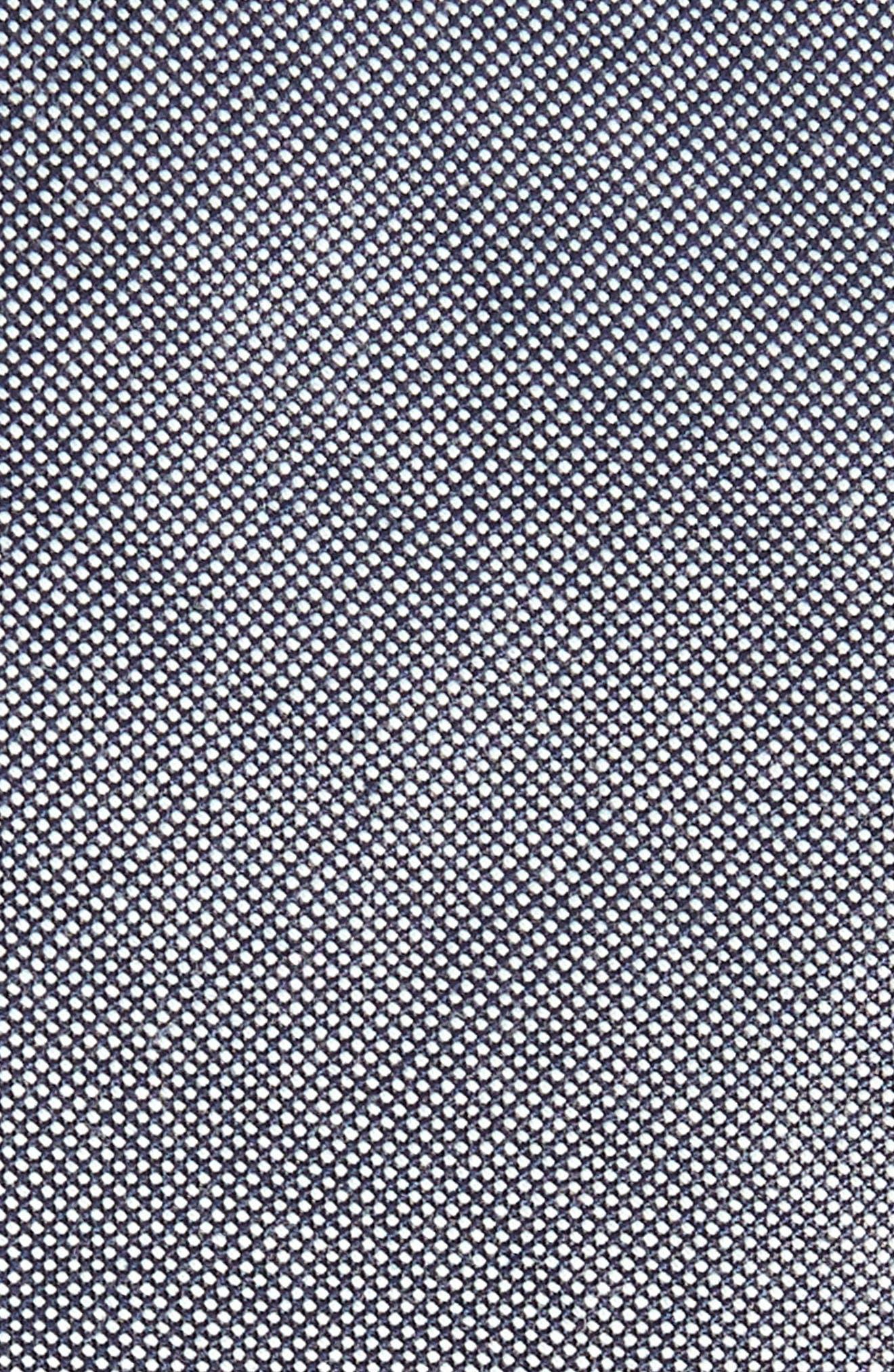 Combin Solid Cotton Blend Tie,                             Alternate thumbnail 2, color,