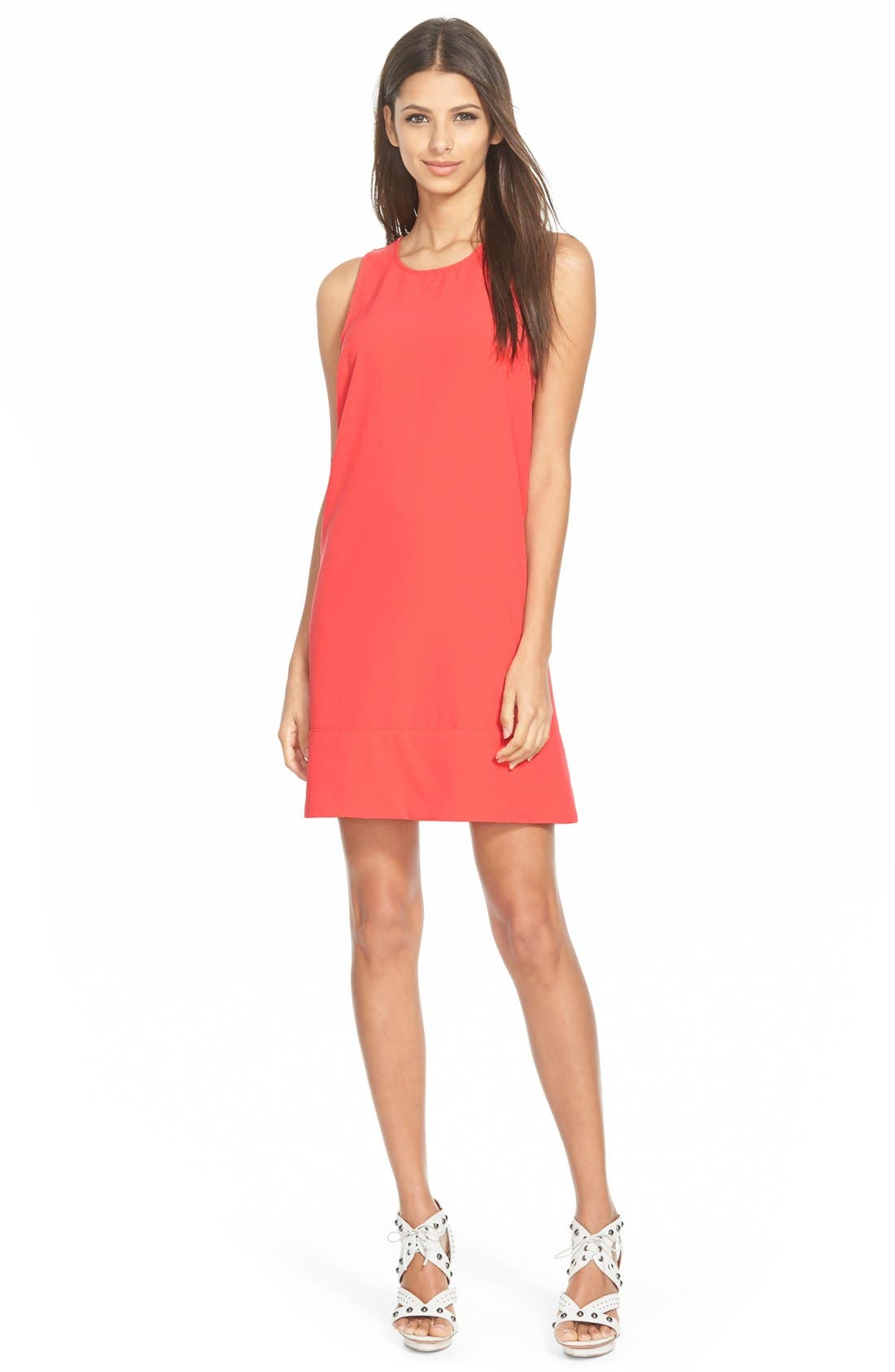 Racerback Shift Dress,                             Main thumbnail 41, color,