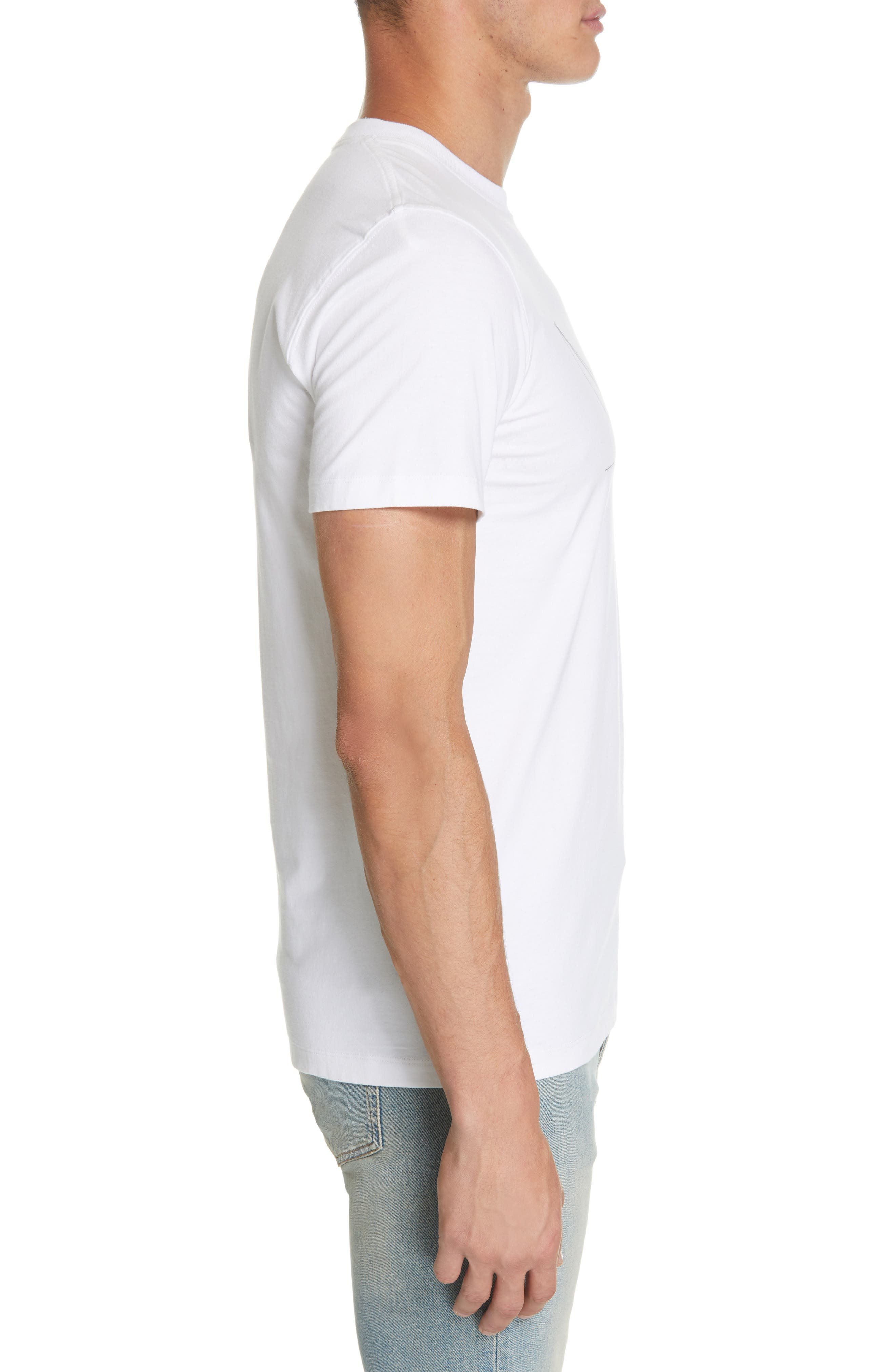Daniel Frost - Hanging Graphic T-Shirt,                             Alternate thumbnail 3, color,                             WHITE