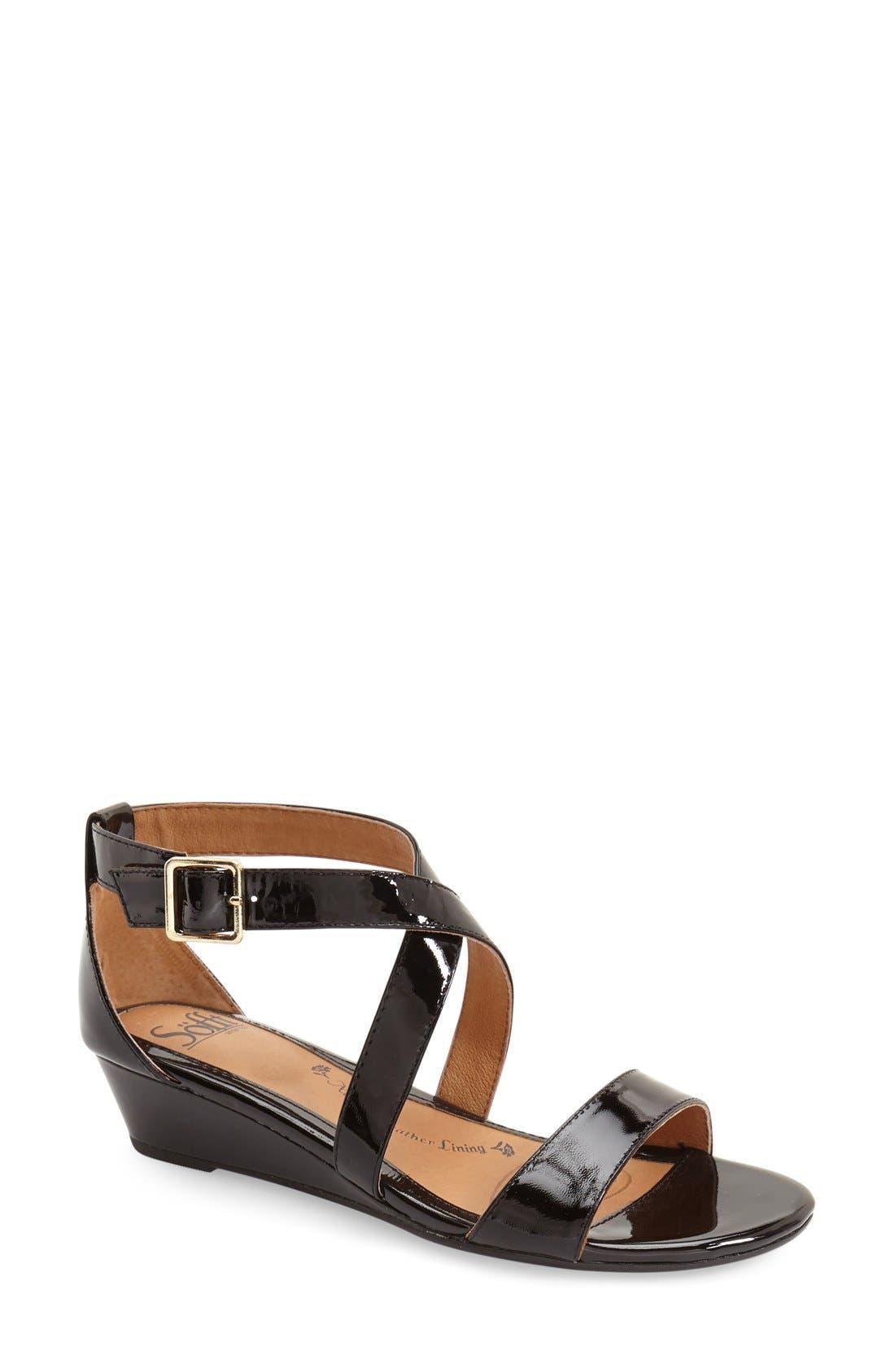 'Innis' Low Wedge Sandal,                             Main thumbnail 5, color,
