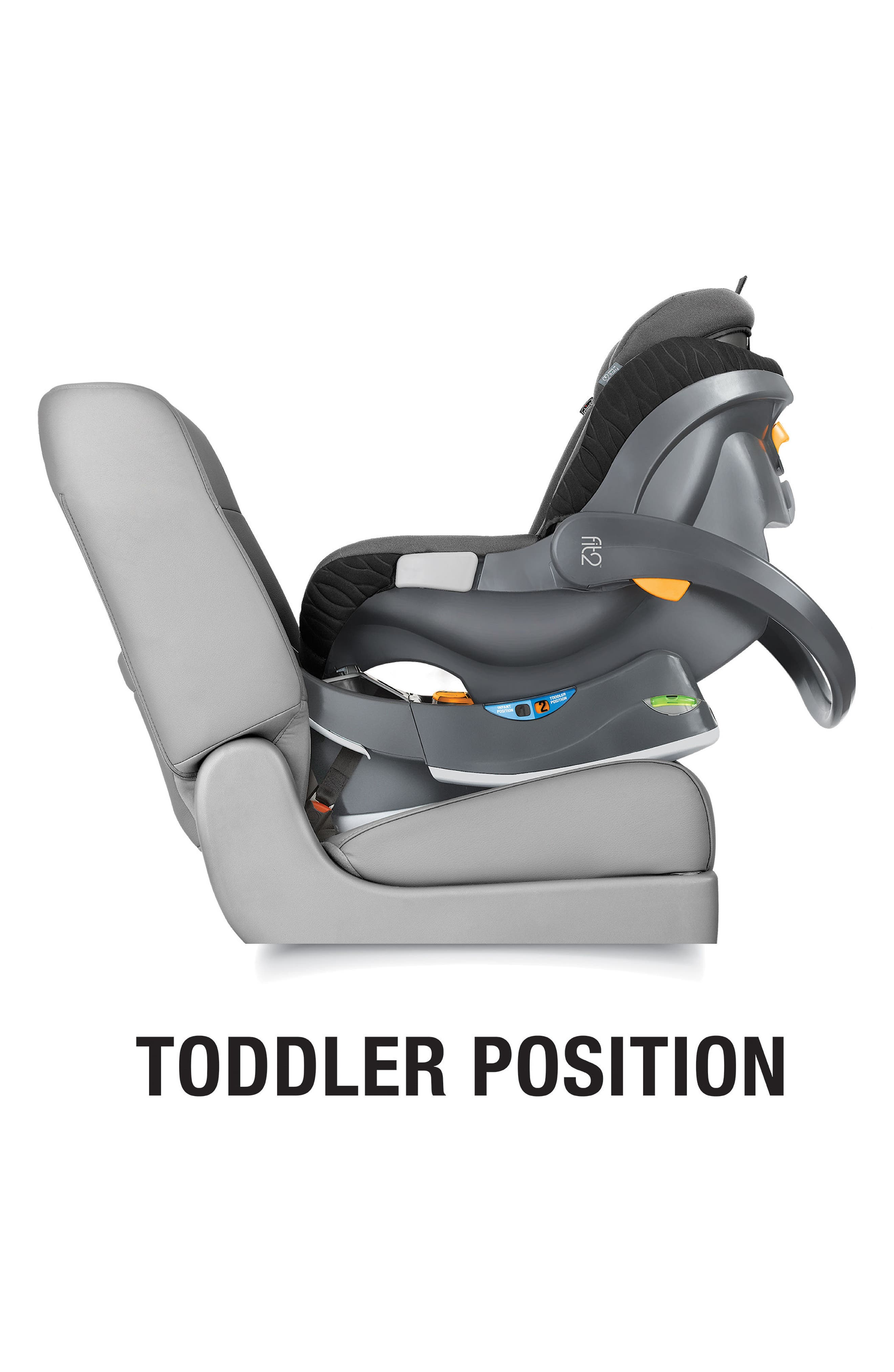 Fit2 2018 Rear-Facing Infant & Toddler Car Seat,                             Alternate thumbnail 2, color,                             001