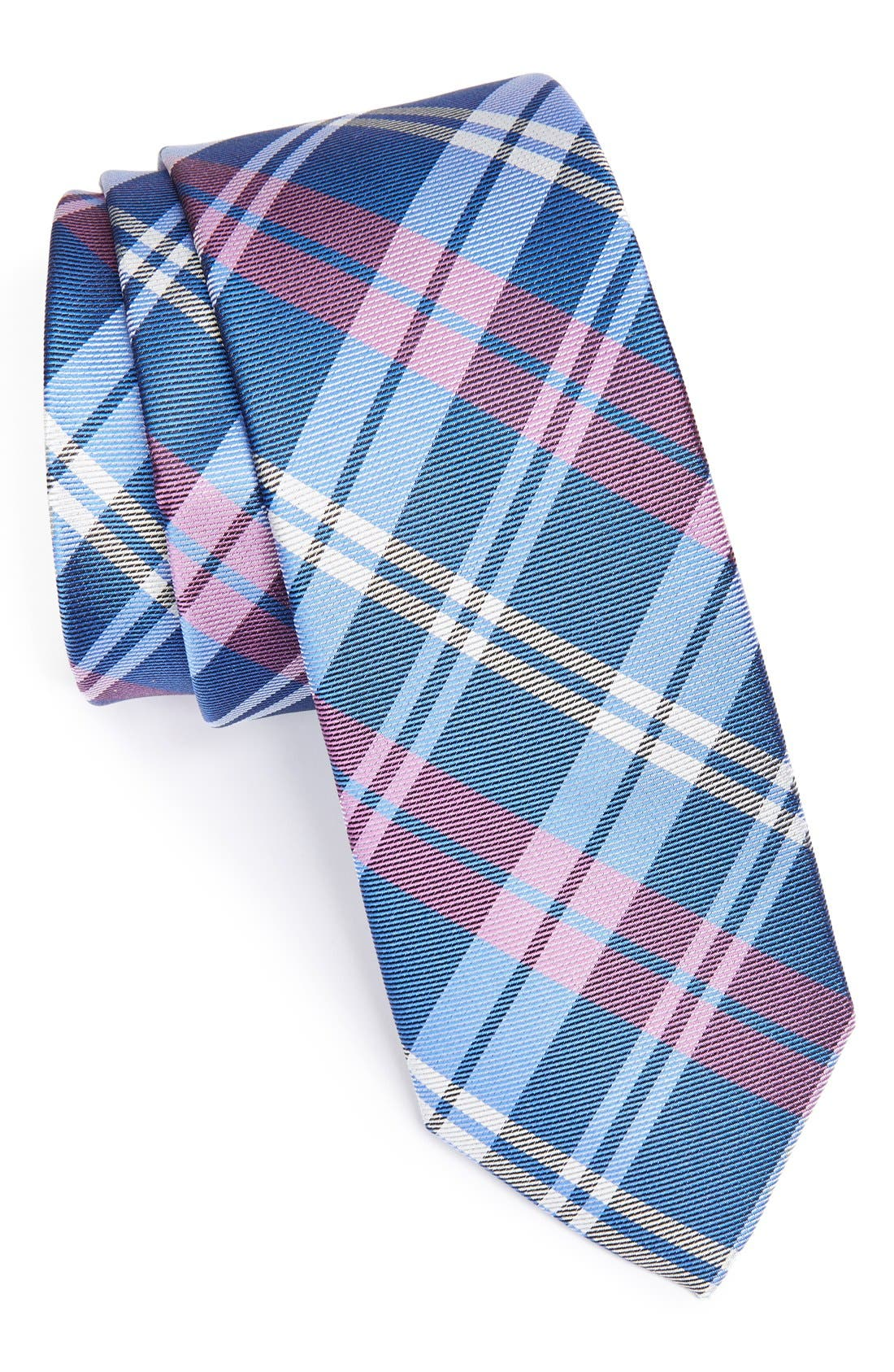 Woven Silk Tie,                         Main,                         color, 400
