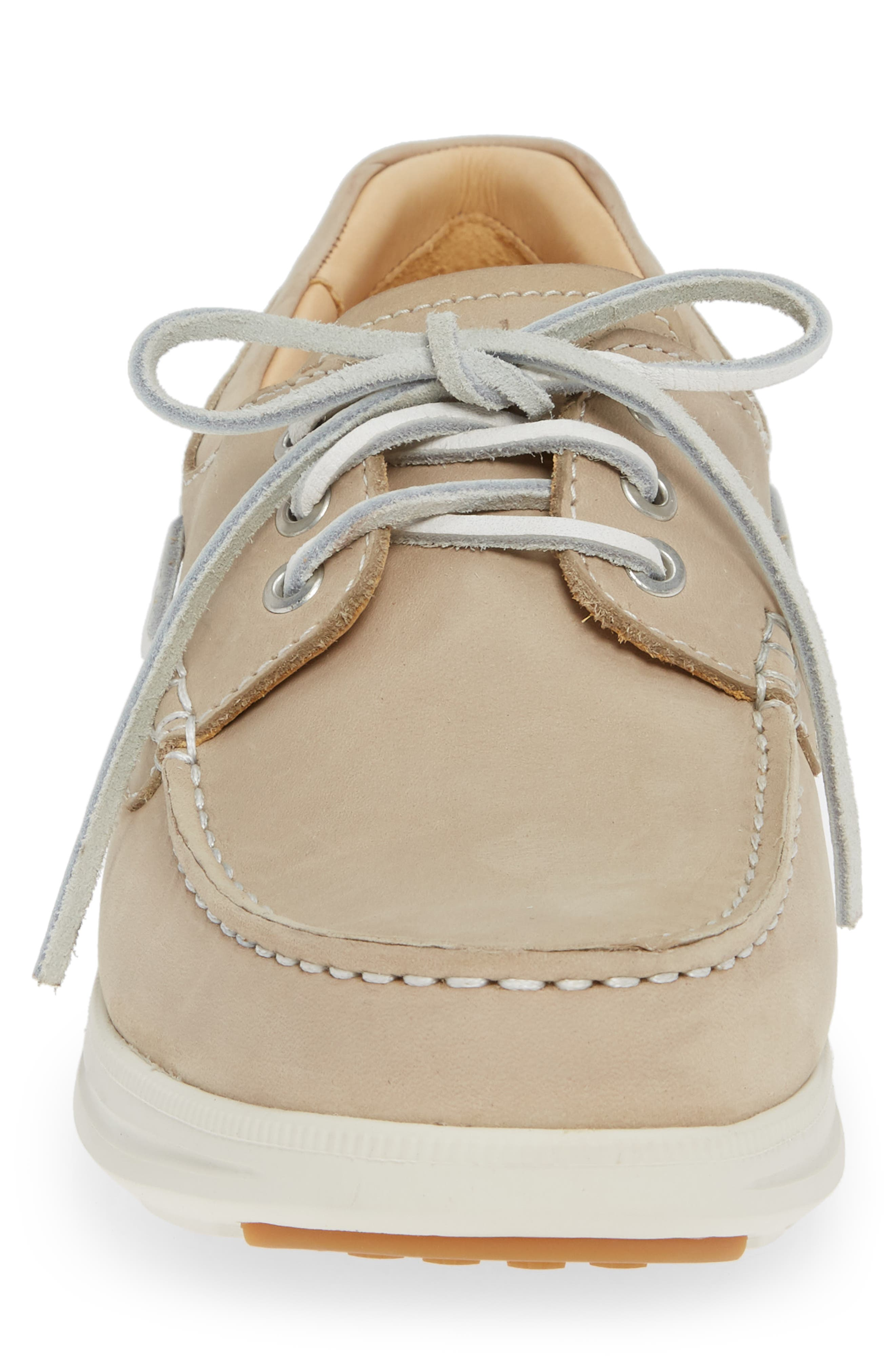 First Up Golf Shoe,                             Alternate thumbnail 4, color,                             DRIFTWOOD NATURAL