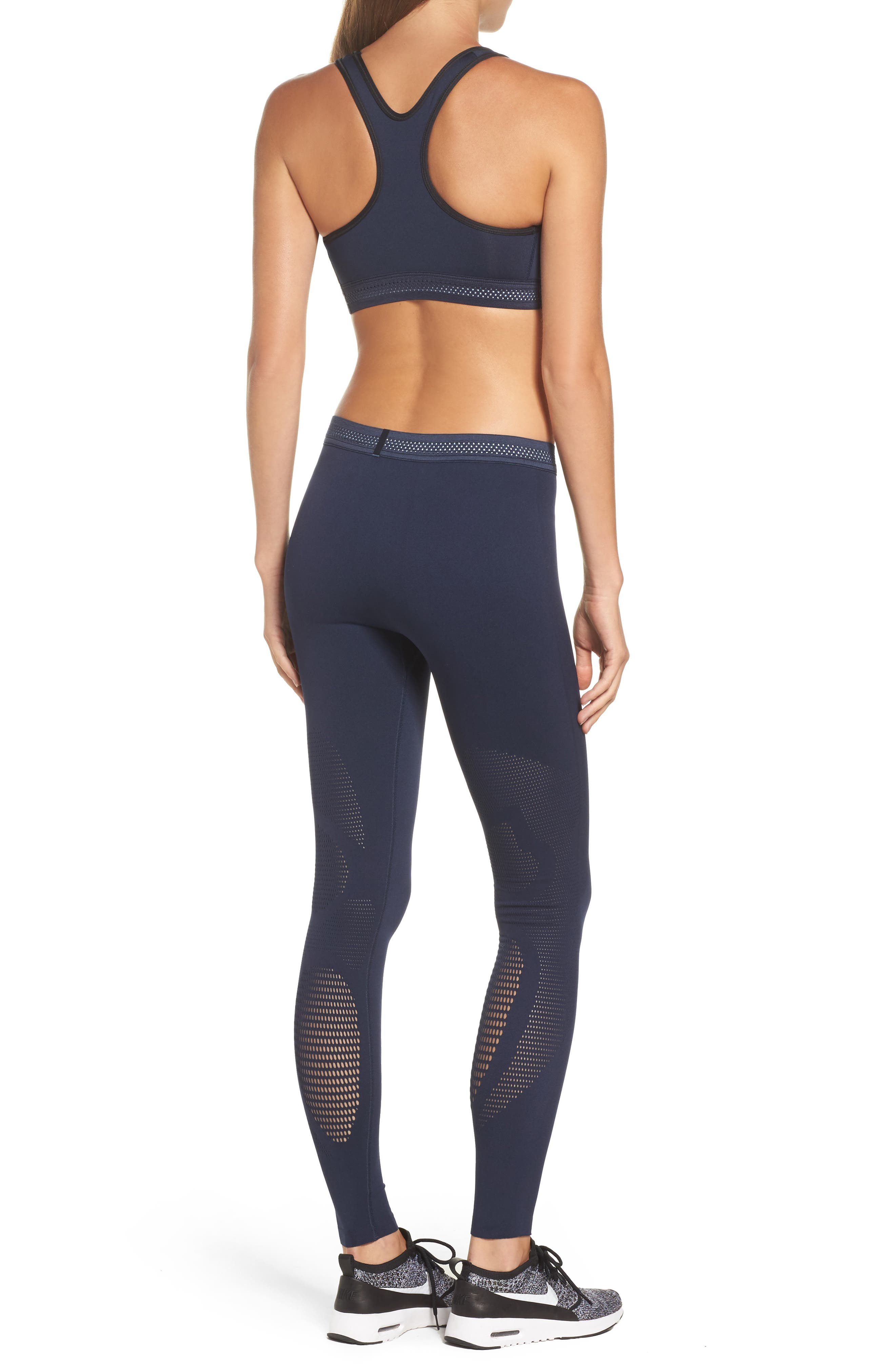 NikeLab Essential Training Sports Bra,                             Alternate thumbnail 17, color,