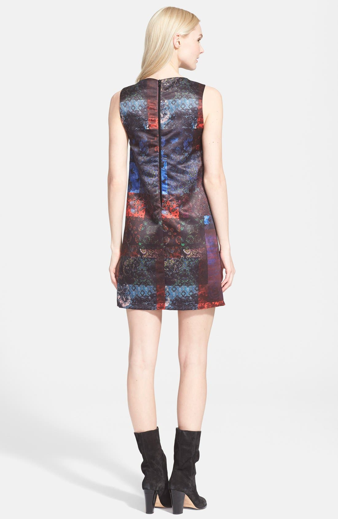 'Clyde' Shift Dress,                             Alternate thumbnail 3, color,                             602
