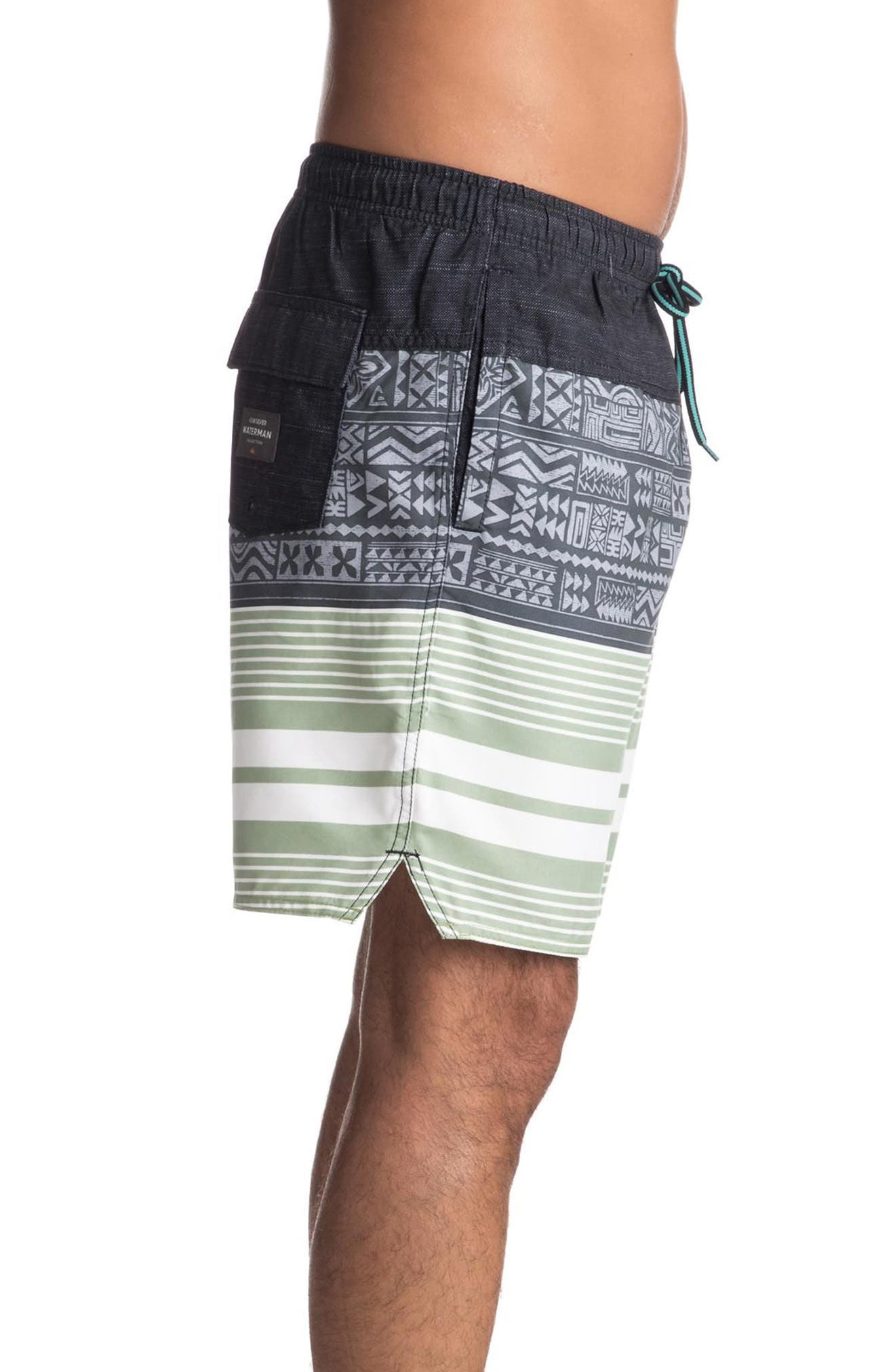 Quiksilver Arva Volley Shorts,                             Alternate thumbnail 3, color,