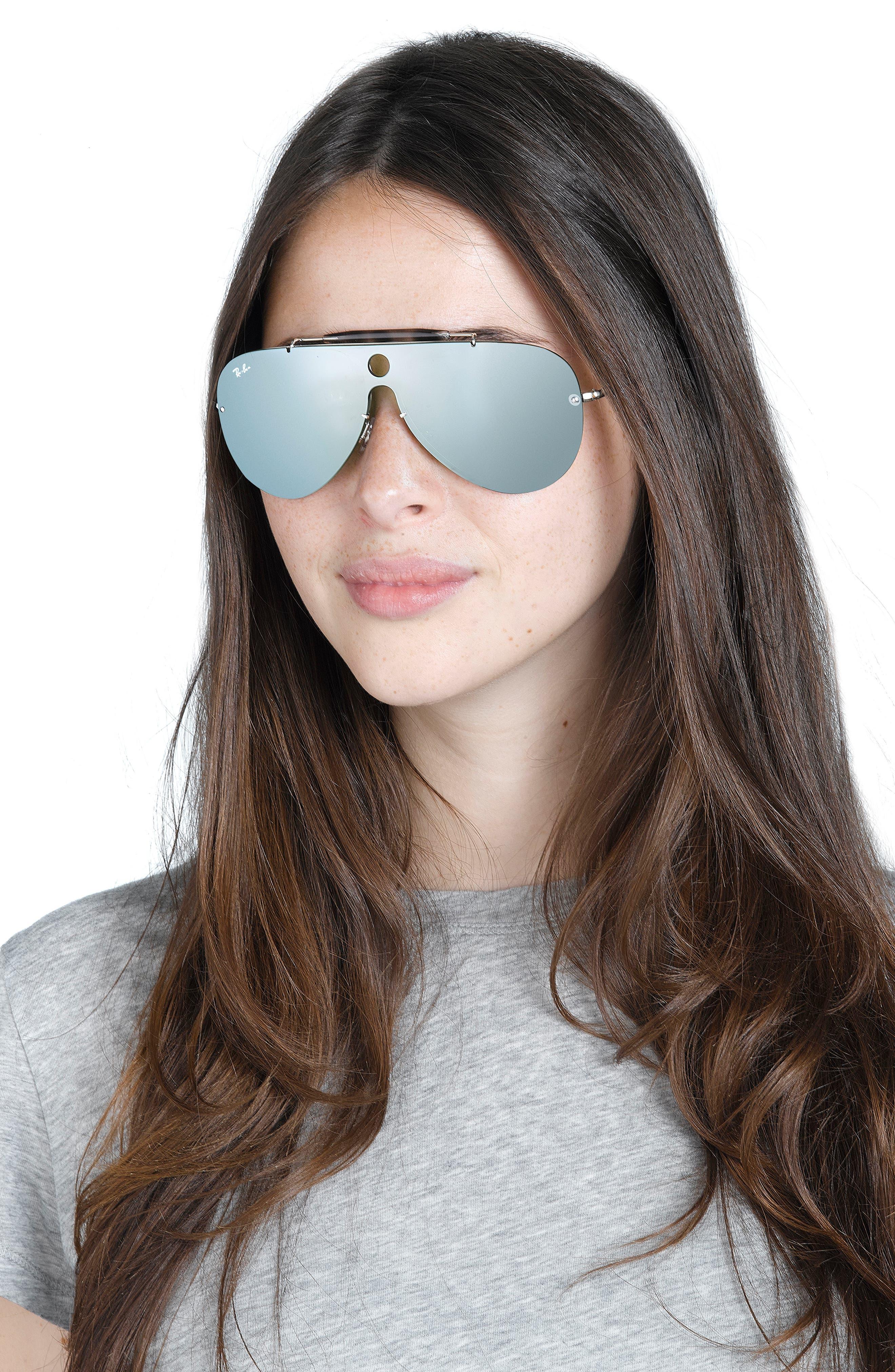 Aviator Shield Sunglasses,                             Alternate thumbnail 11, color,